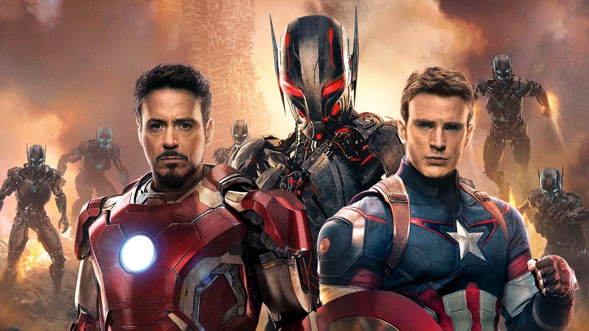 General 1920x1080 Avengers: Age of Ultron Iron Man Captain America Ultron movies Tony Stark Chris Evans Robert Downey Jr. Steve Rogers