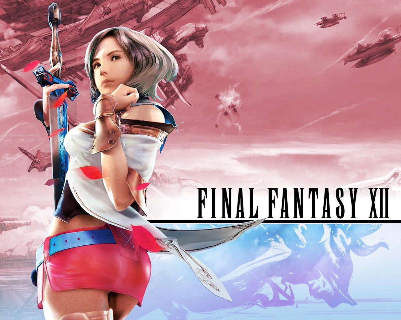 Anime 1280x1024 video games Final Fantasy XII ass anime girls anime video game art