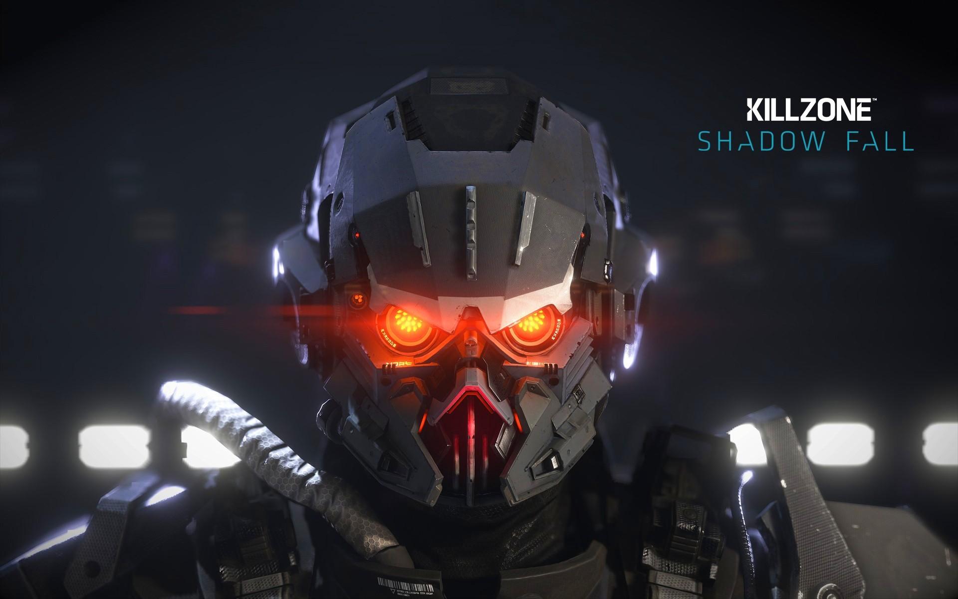 General 1920x1200 Killzone Killzone: Shadow Fall video games glowing eyes video game art science fiction