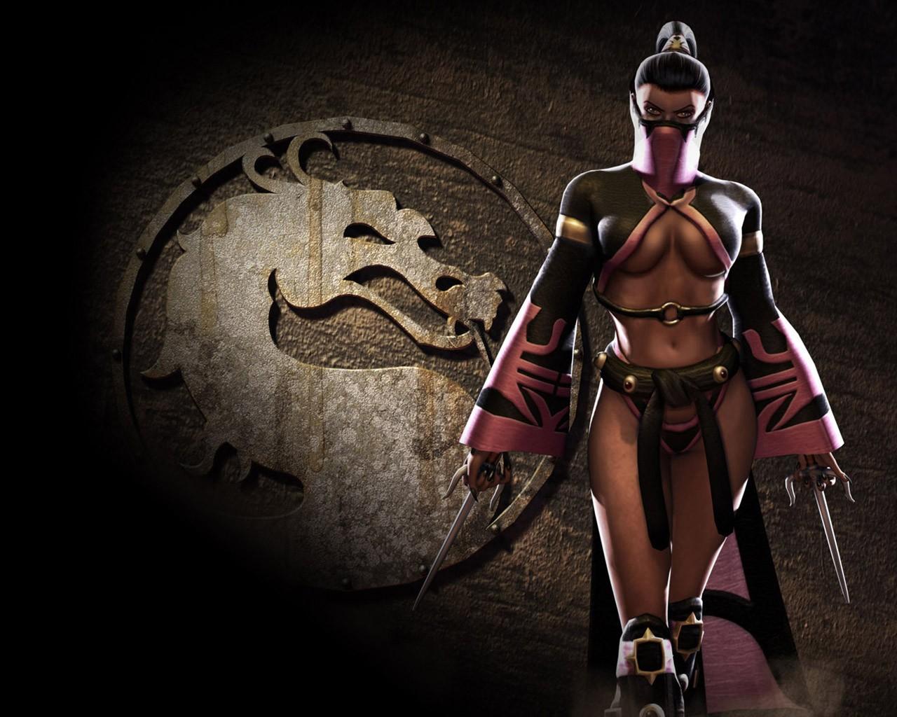 General 1280x1024 Mortal Kombat Mileena Mileena (Mortal Kombat) video games