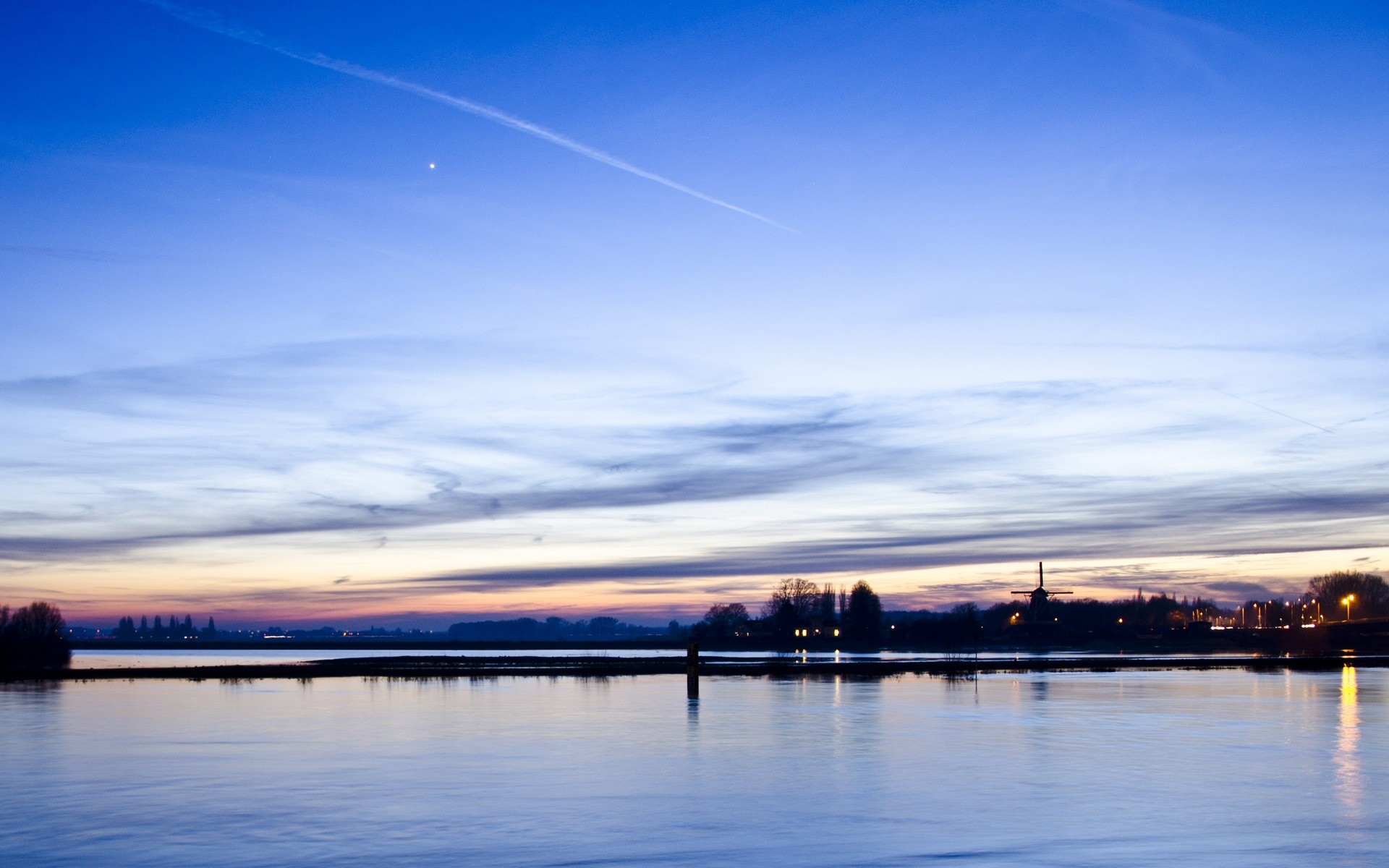 General 1920x1200 photography landscape water sunset