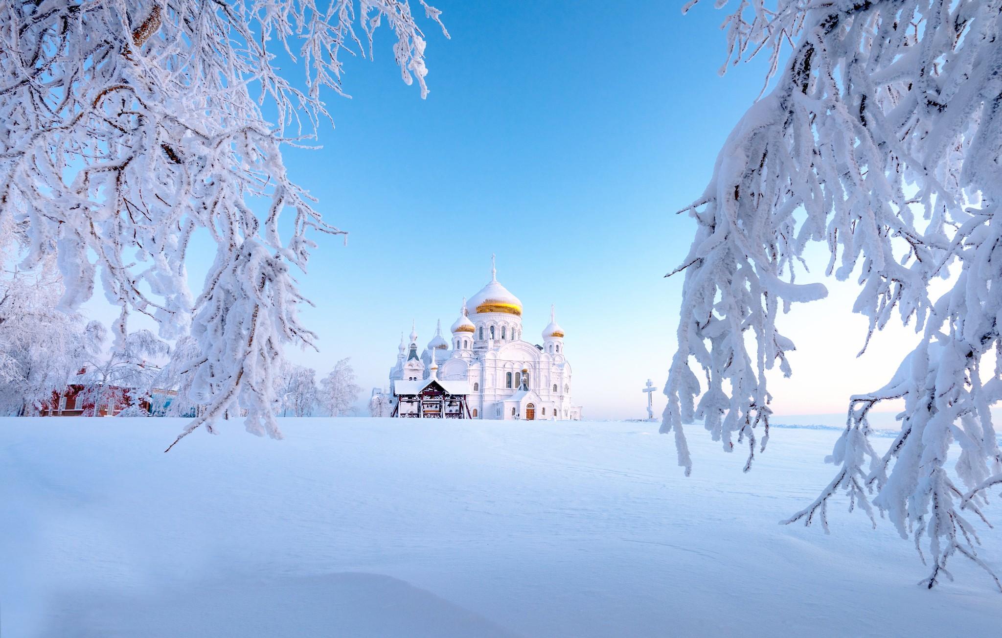 General 2048x1304 Ural winter Russia snow