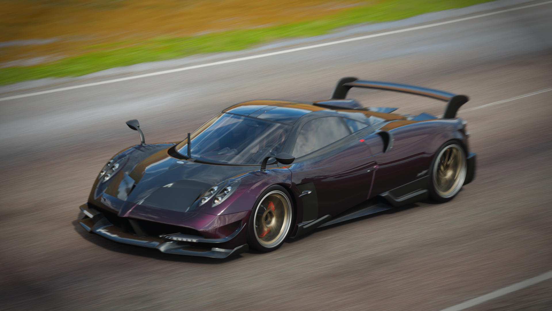 General 1920x1080 Forza Forza Horizon 4 Forza Horizon car racing cinematic supercars Hypercar Ferrari Pagani Ford italdesign