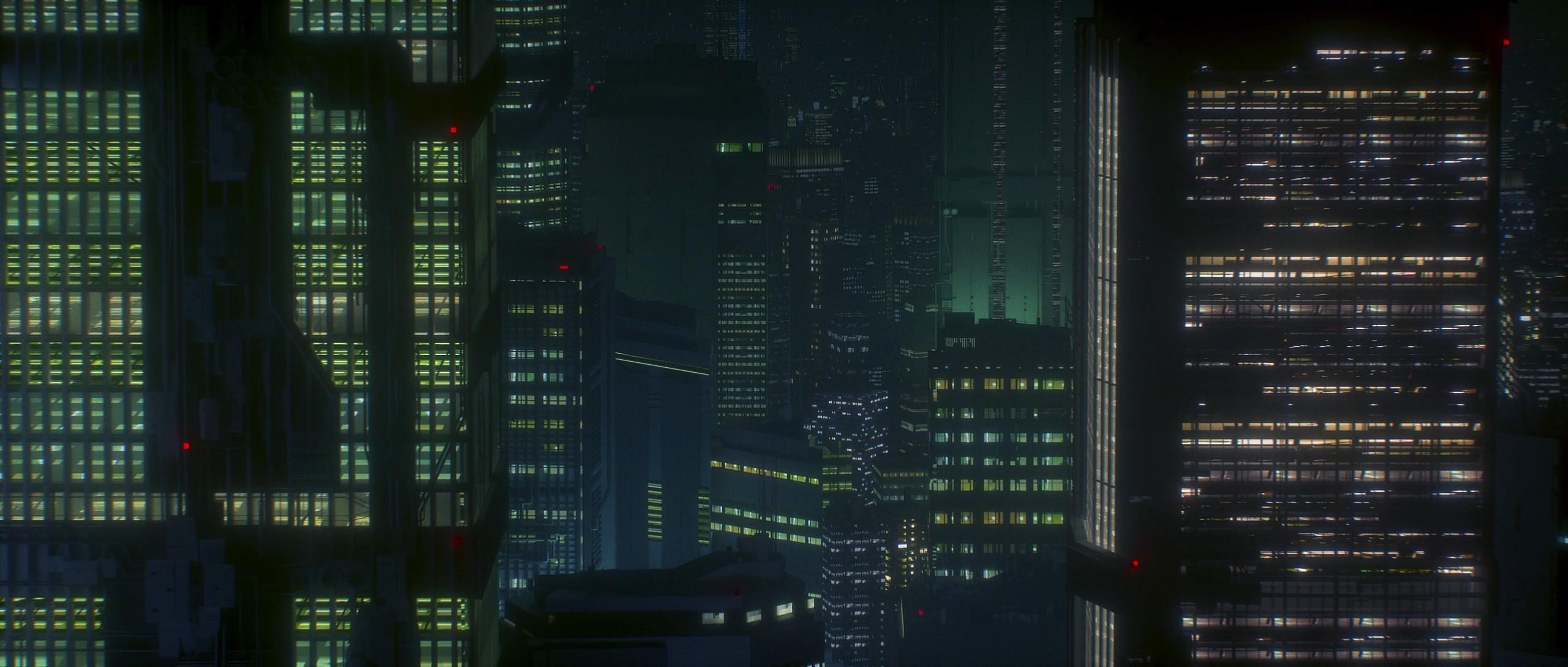 Anime 2560x1088 Akira awaken akira anime cyberpunk building neo-tokyo city Japan