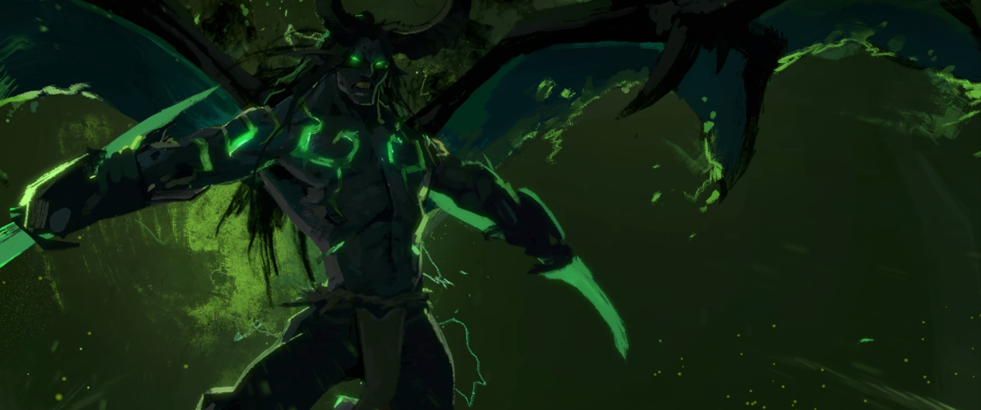General 3440x1440 World of Warcraft Blizzard Entertainment Demon Hunter Illidan Stormrage