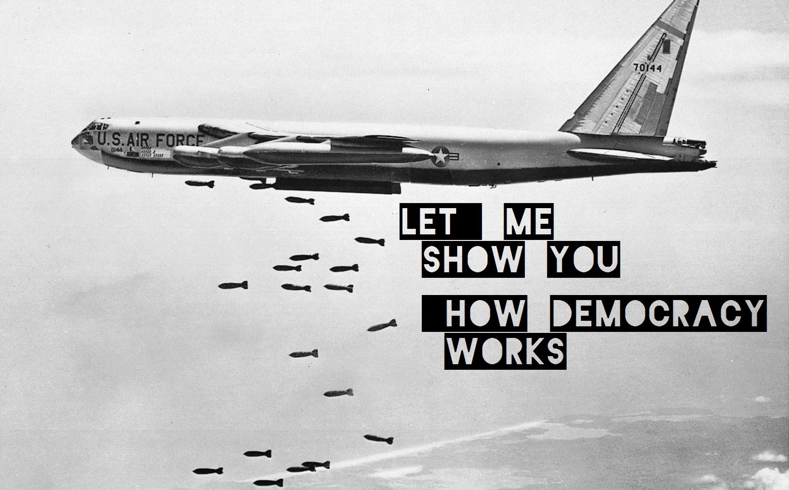 General 1562x970 quote monochrome Boeing B-52 Stratofortress USA air force US Air Force politics Democracy gray