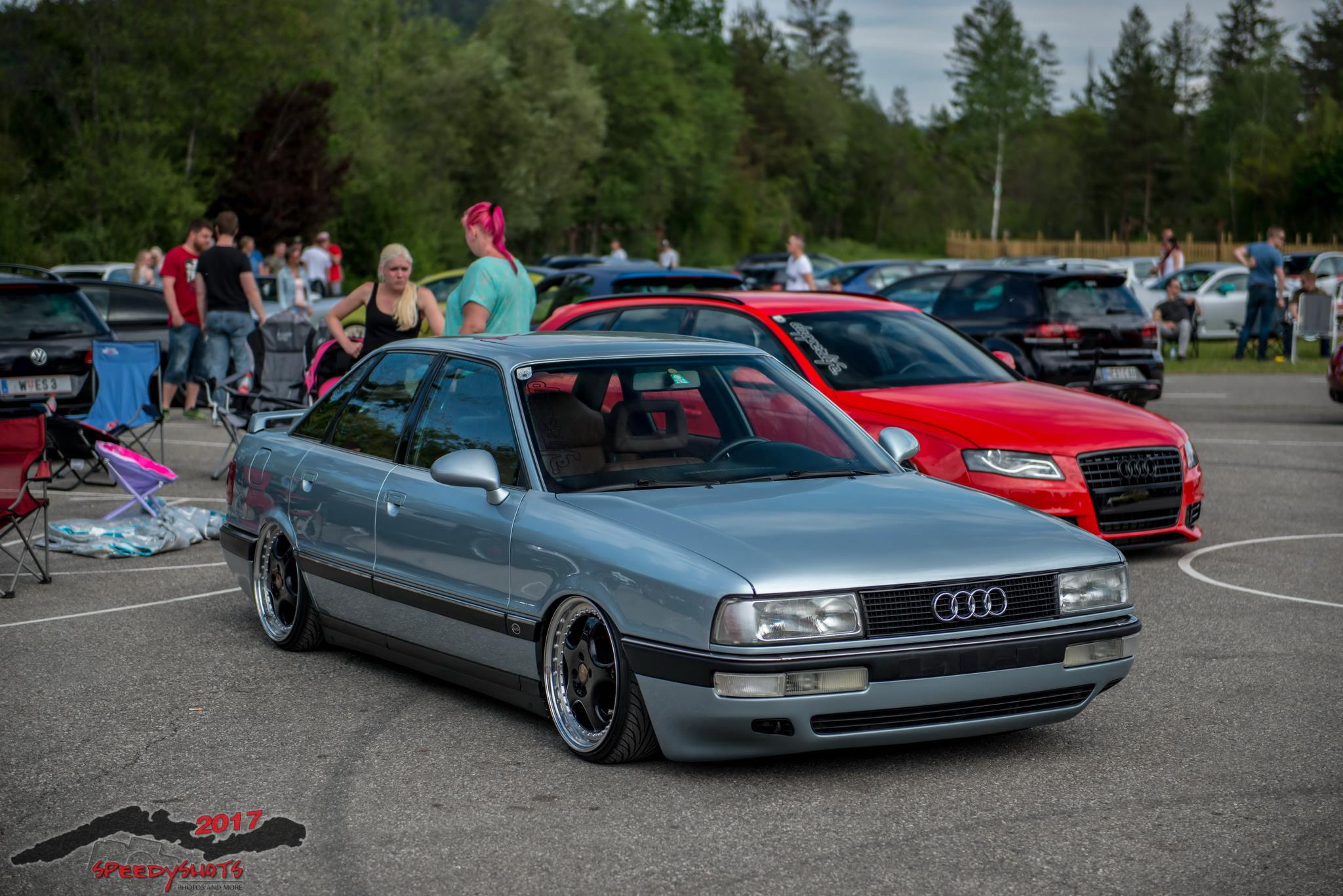 General 2048x1367 Audi tuning car car meets Audi 80/90 B3 Audi A6
