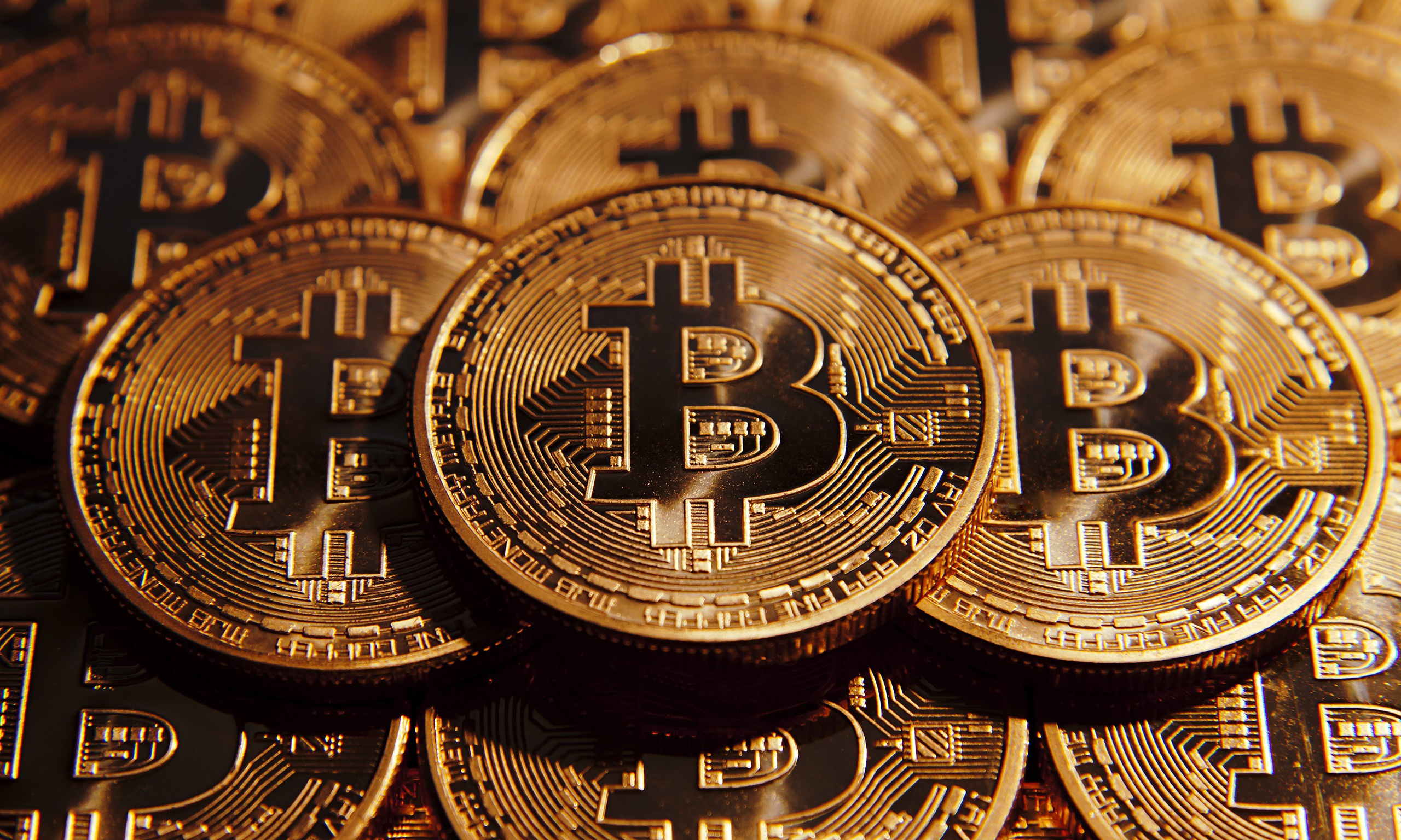 General 2560x1536 Bitcoin coin gold