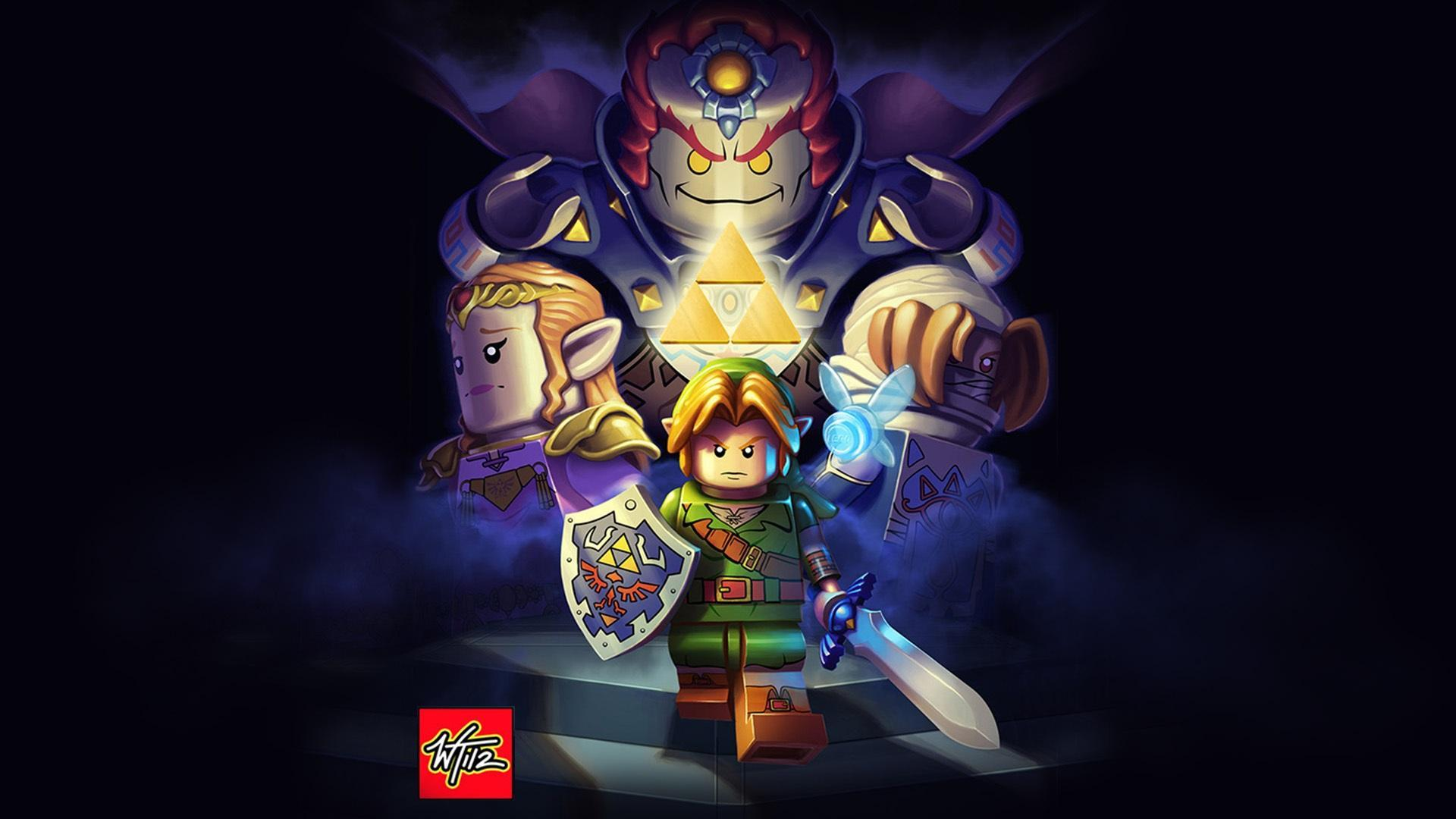 General 1920x1080 The Legend of Zelda Link Nintendo Master Sword Hylian Shield Ganondorf Princess Zelda LEGO Sheik navi The Legend of Zelda: Ocarina of Time watermarked