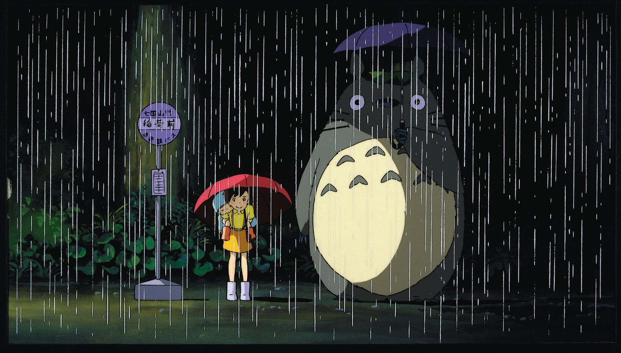 Anime 2000x1137 anime Studio Ghibli My Neighbor Totoro