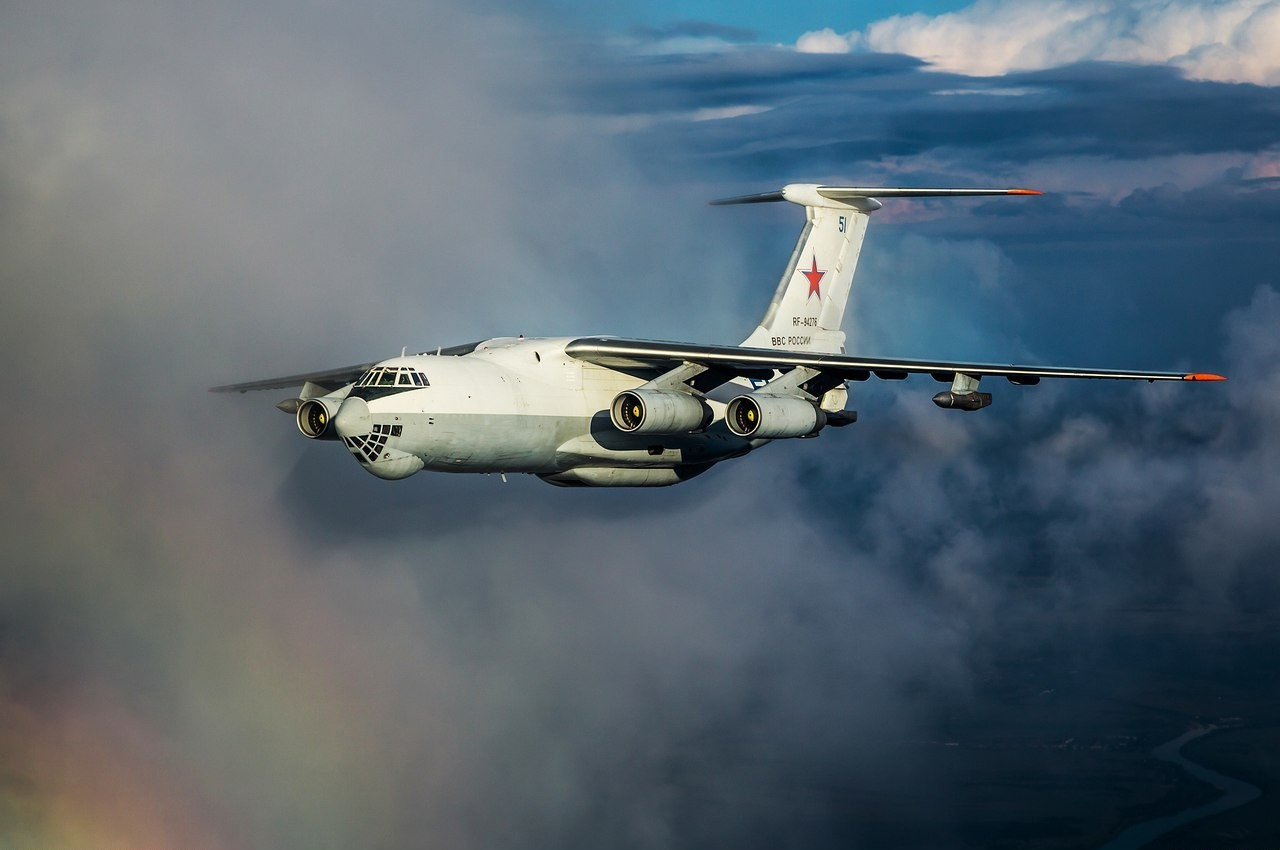 General 1280x850 il-76 military military aircraft aircraft