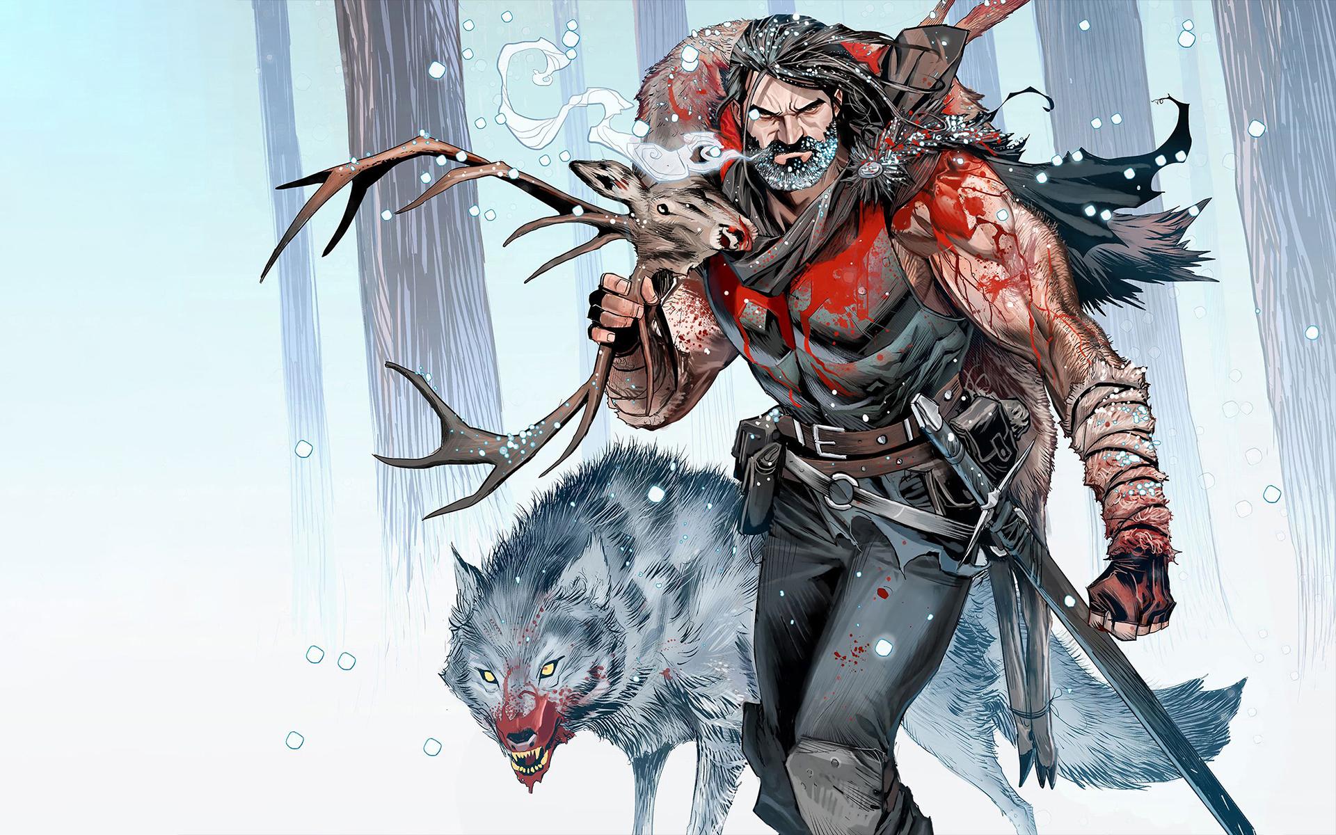 General 1920x1200 Santa Claus Grant Morrison Vikings comic books Christmas Norse mythology