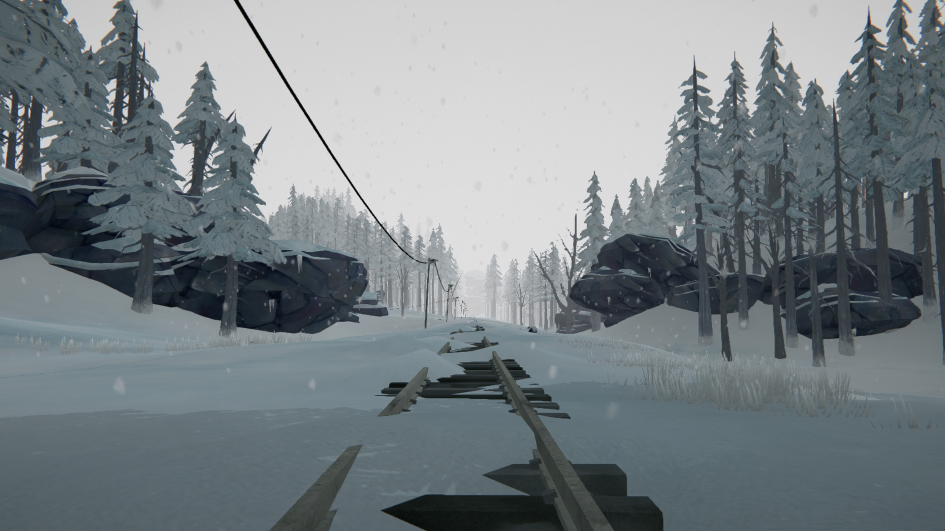 General 1920x1080 The Long Dark video games snow