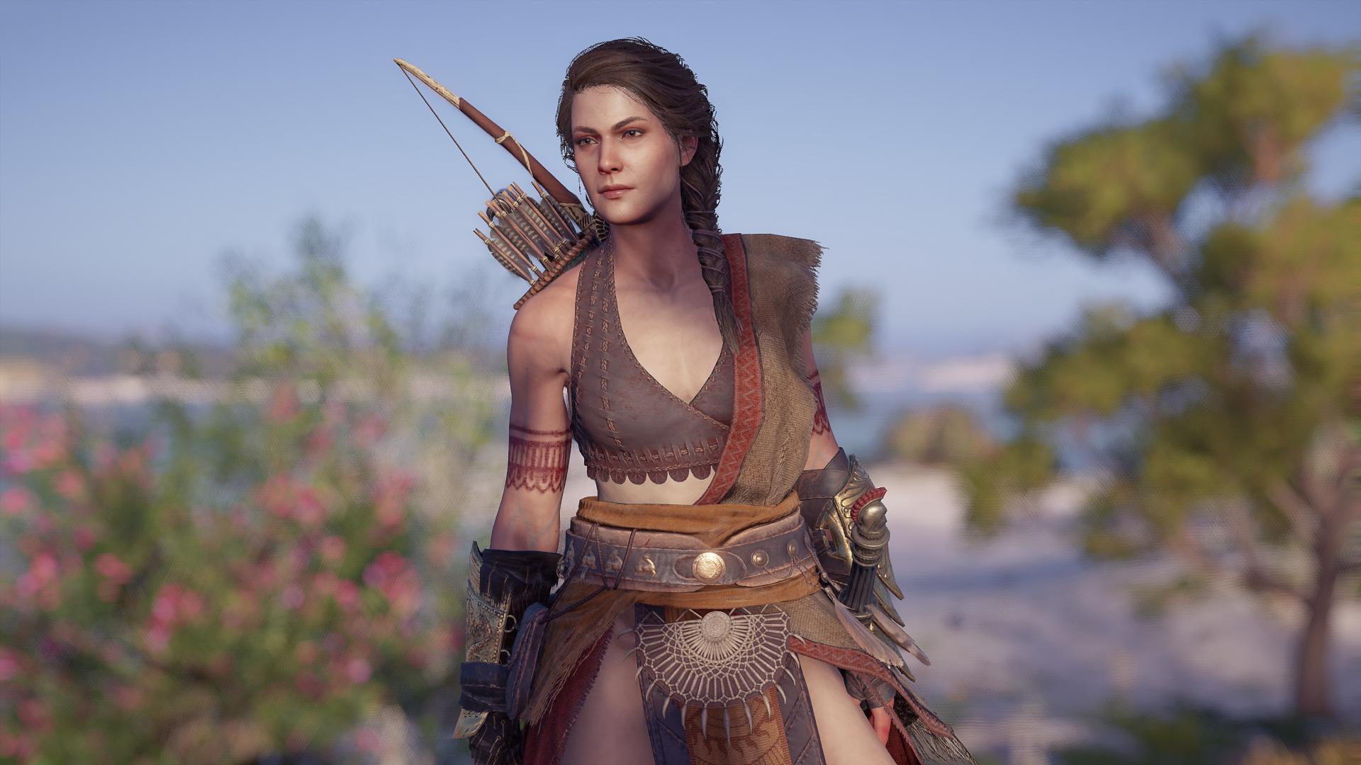 Old Kassandra Mod - Assassins Creed Odyssey Mods