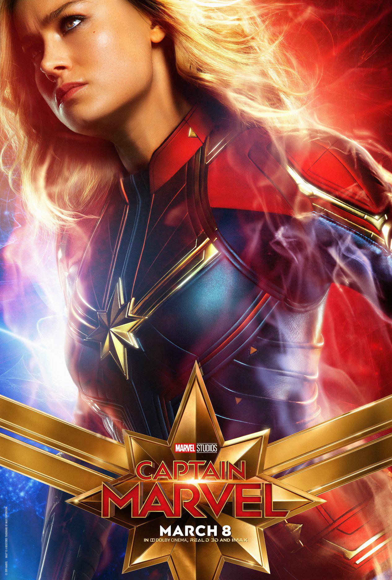 General 1266x1875 Captain Marvel Carol Danvers Marvel Cinematic Universe Marvel Comics Brie Larson blonde women superheroines 2019 (Year) movies