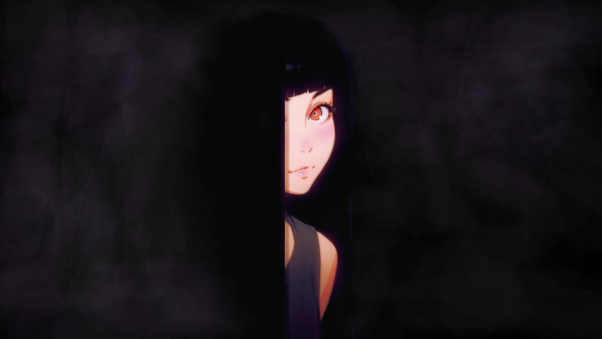 Anime 1920x1080 digital art anime girls fantasy art artwork original characters minimalism Ilya Kuvshinov イリヤ