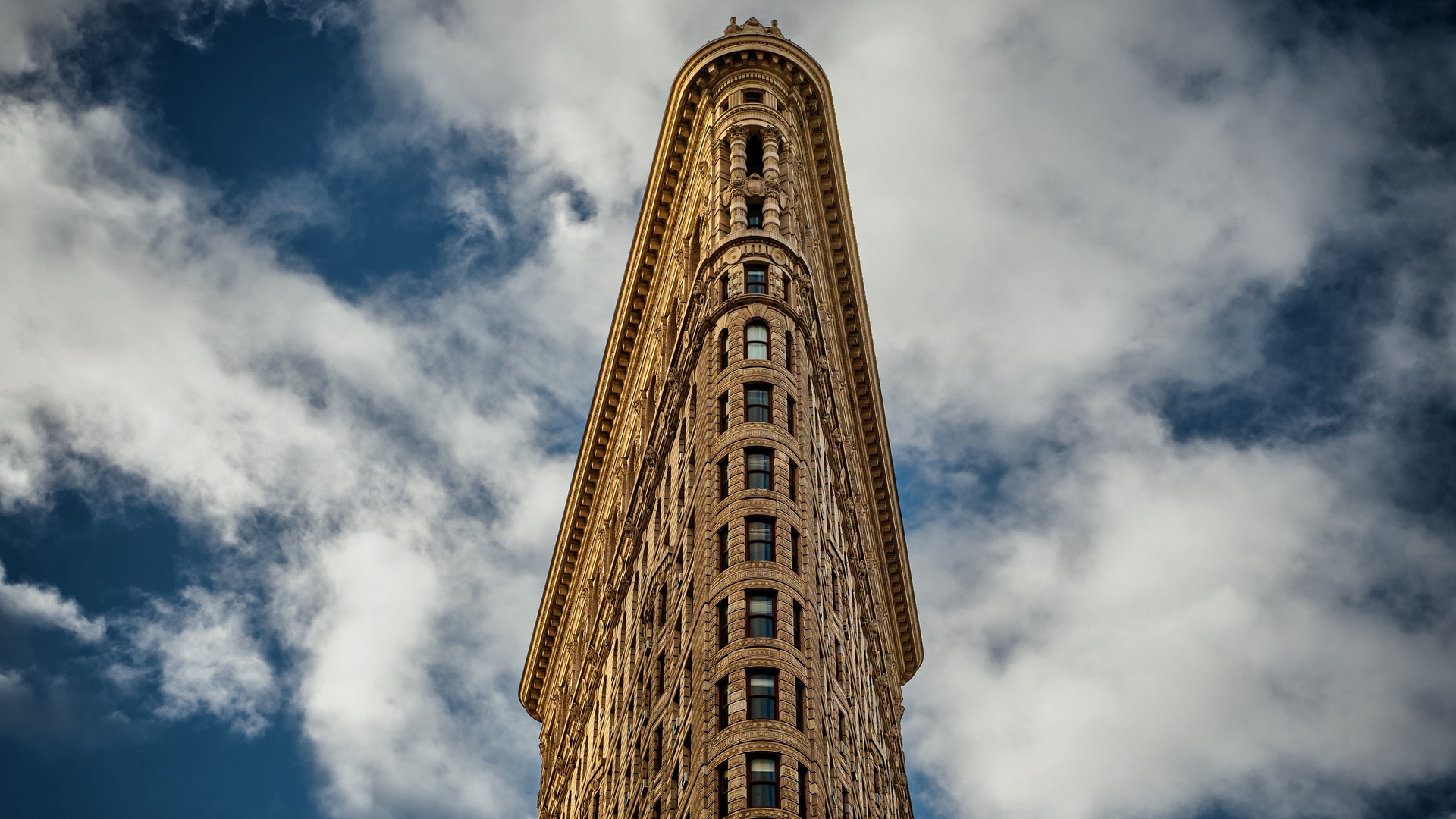 General 1920x1080 building clouds facade sky Flatiron Building