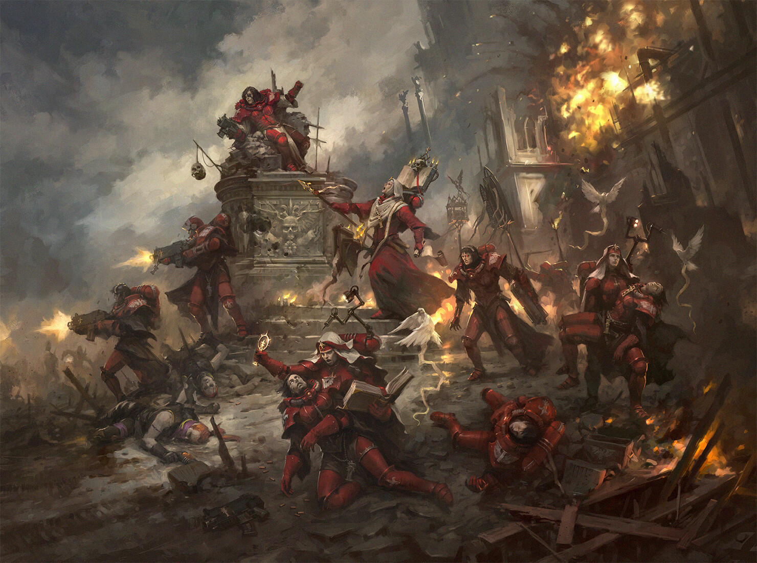 General 1480x1102 Warhammer 40,000 Games Workshop Adepta Sororitas
