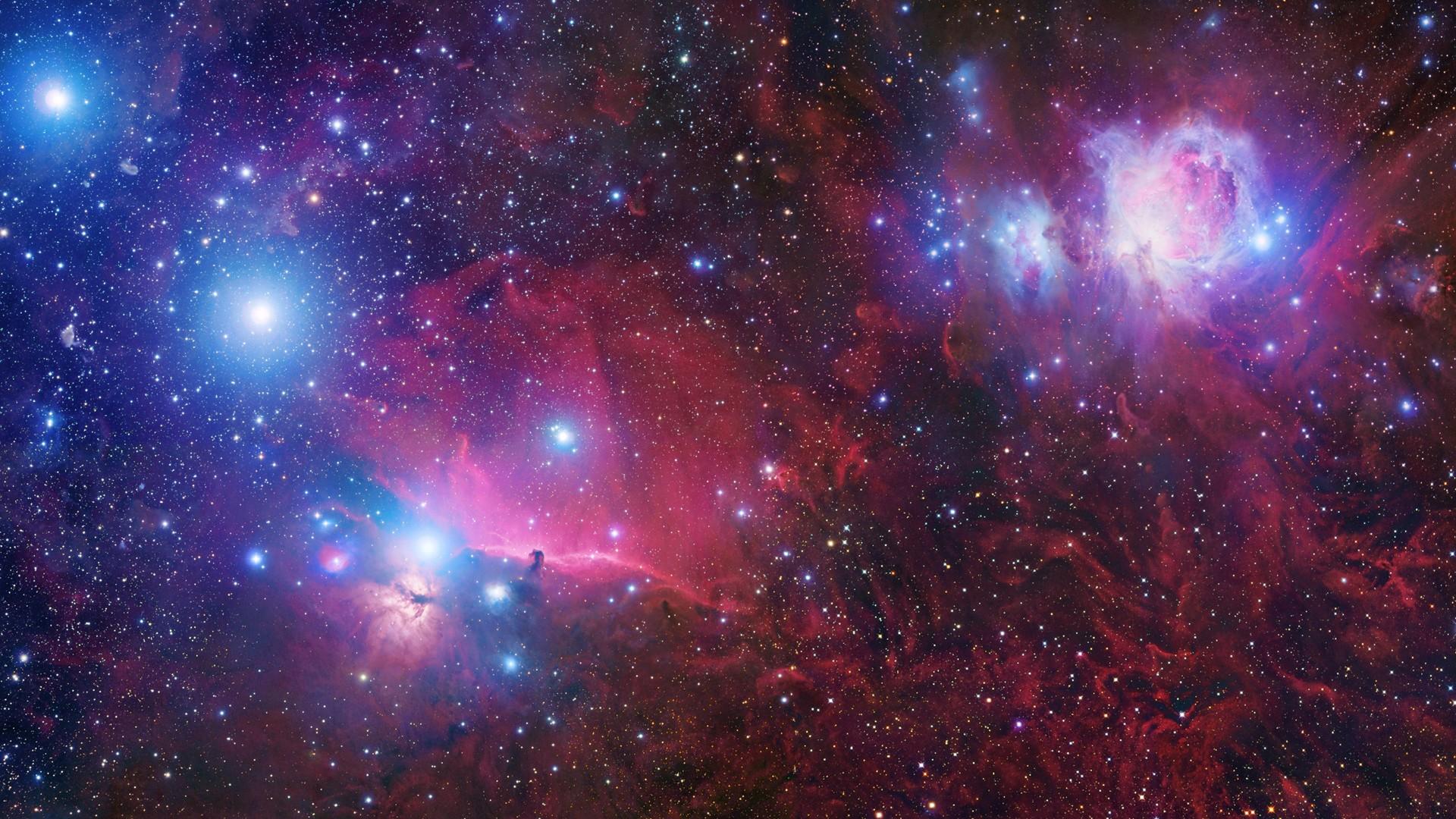 General 1920x1080 space nebula stars universe astronomy