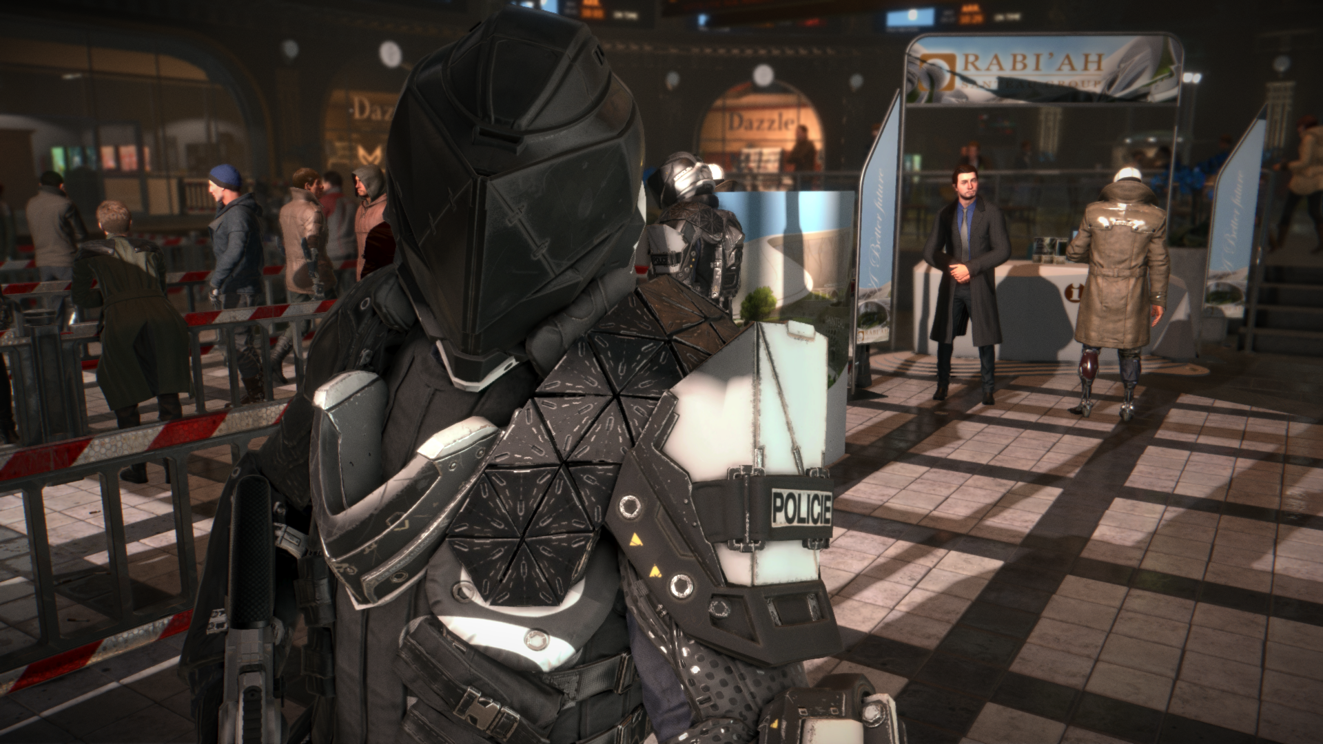 General 1920x1080 Deus Ex: Mankind Divided Deus Ex video games futuristic