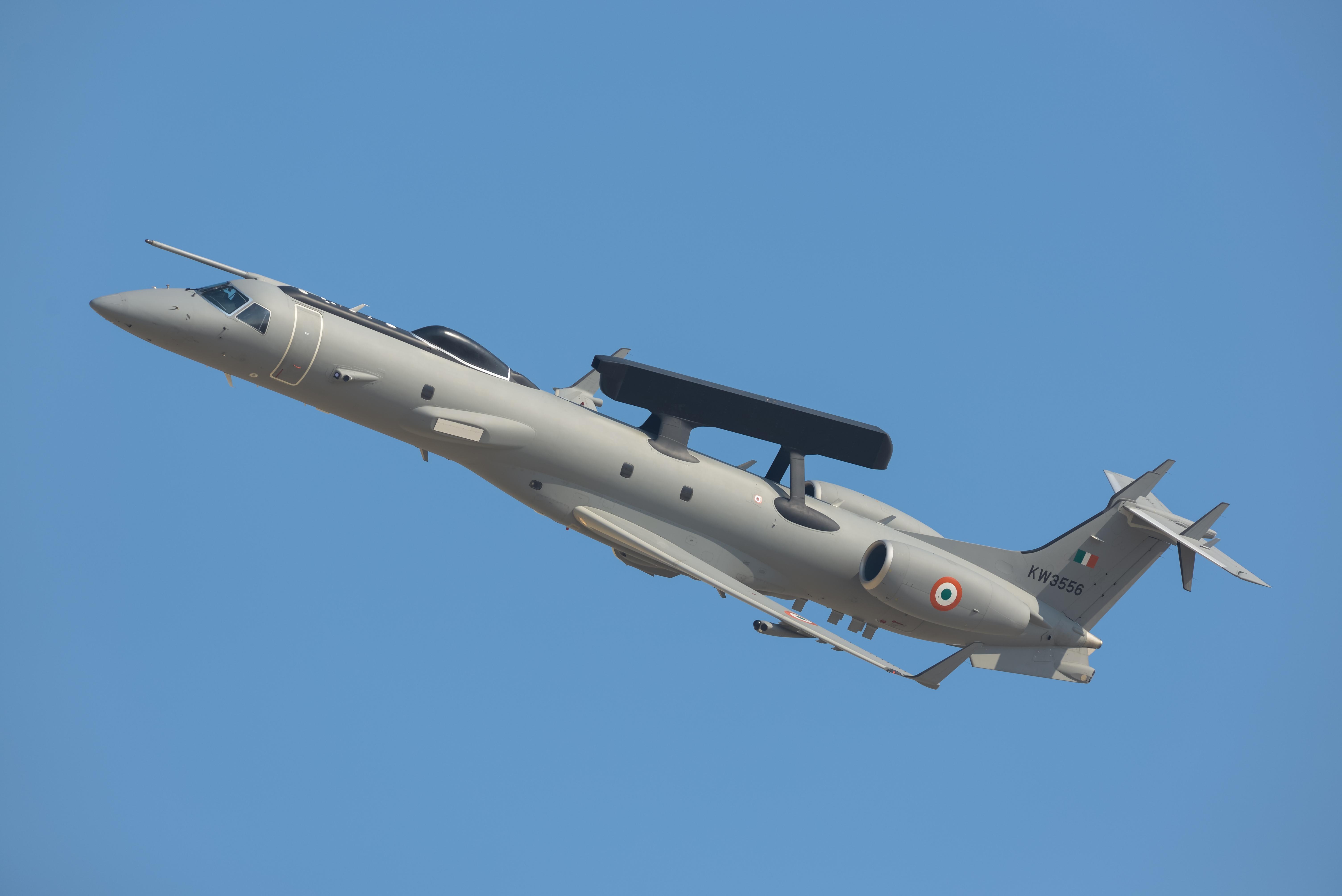 General 6016x4016 Indian Air Force DRDO AEW&CS aircraft