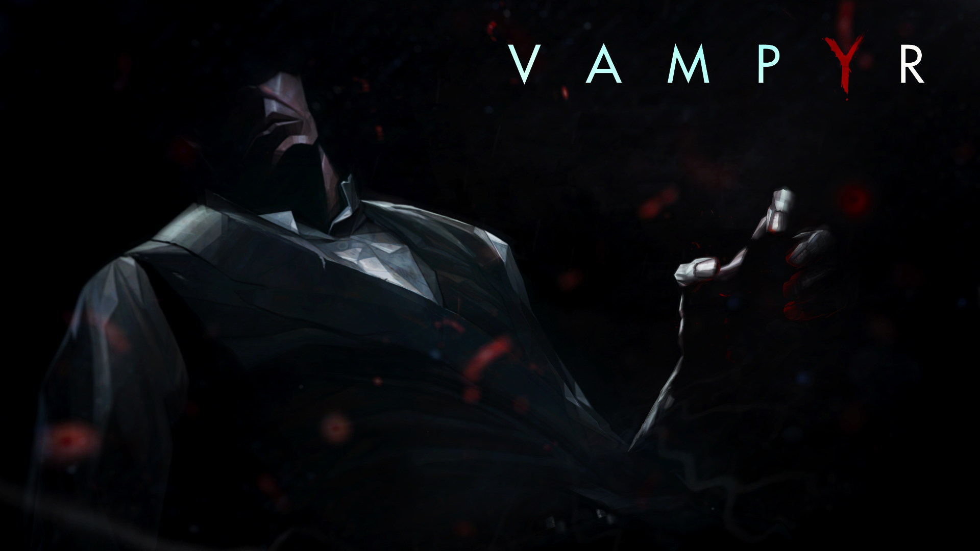 General 1920x1080 Vampyr video games game art dark Games posters
