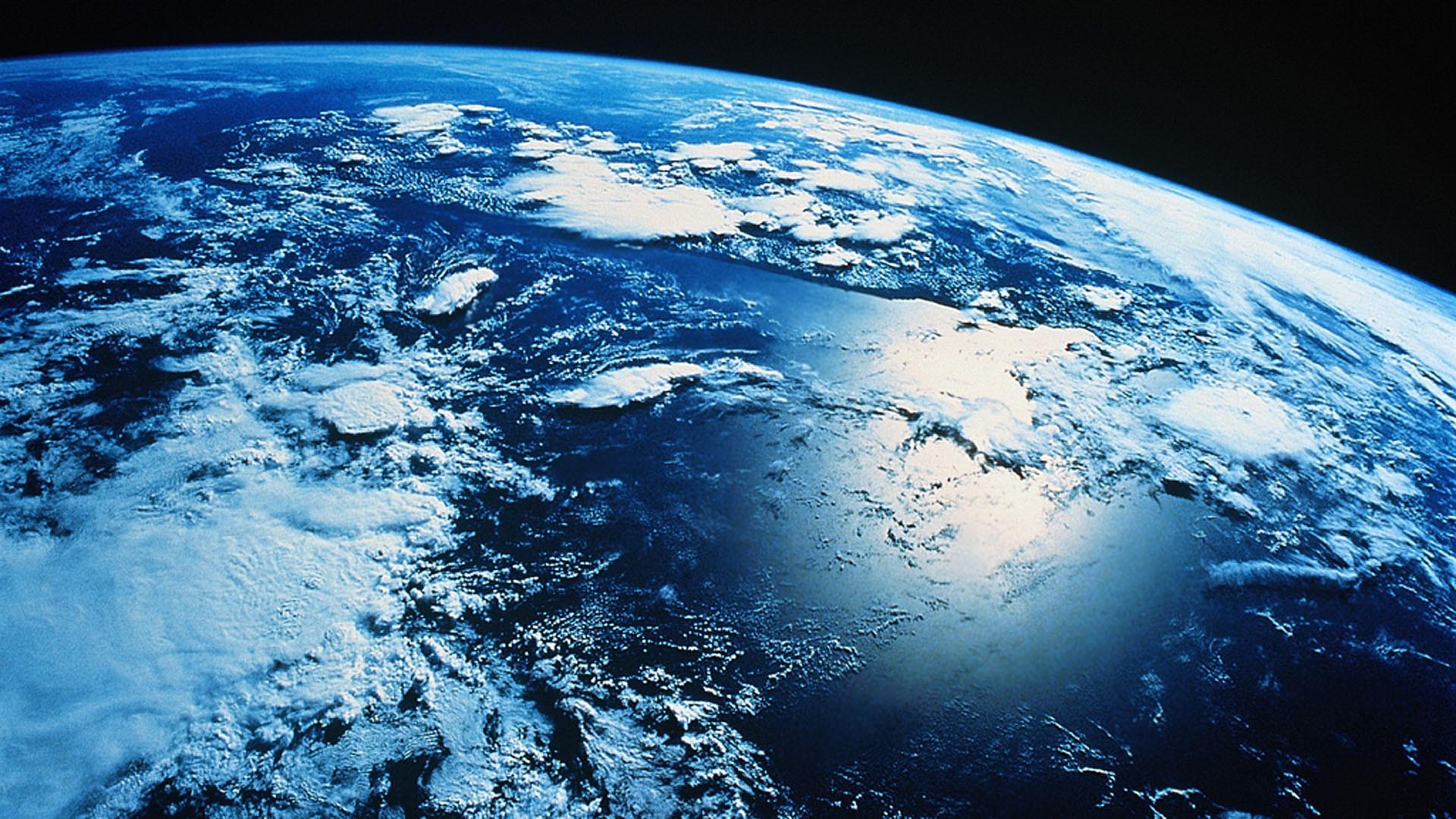 General 1920x1080 Earth clouds orbital view space atmosphere