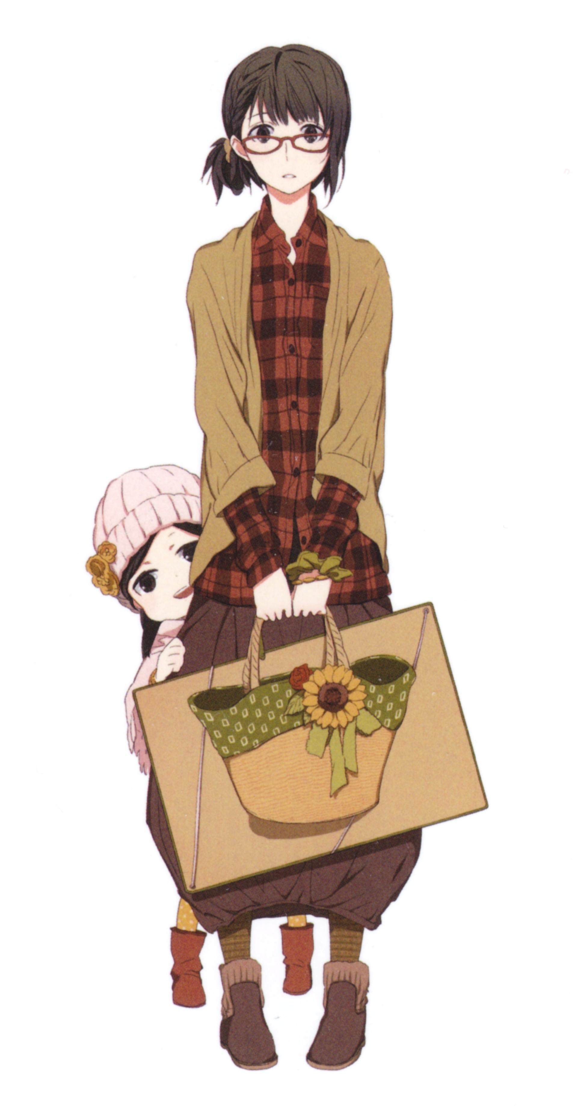 Anime 1912x3675 Barakamon anime girls Kubota Hina Arai Tamako