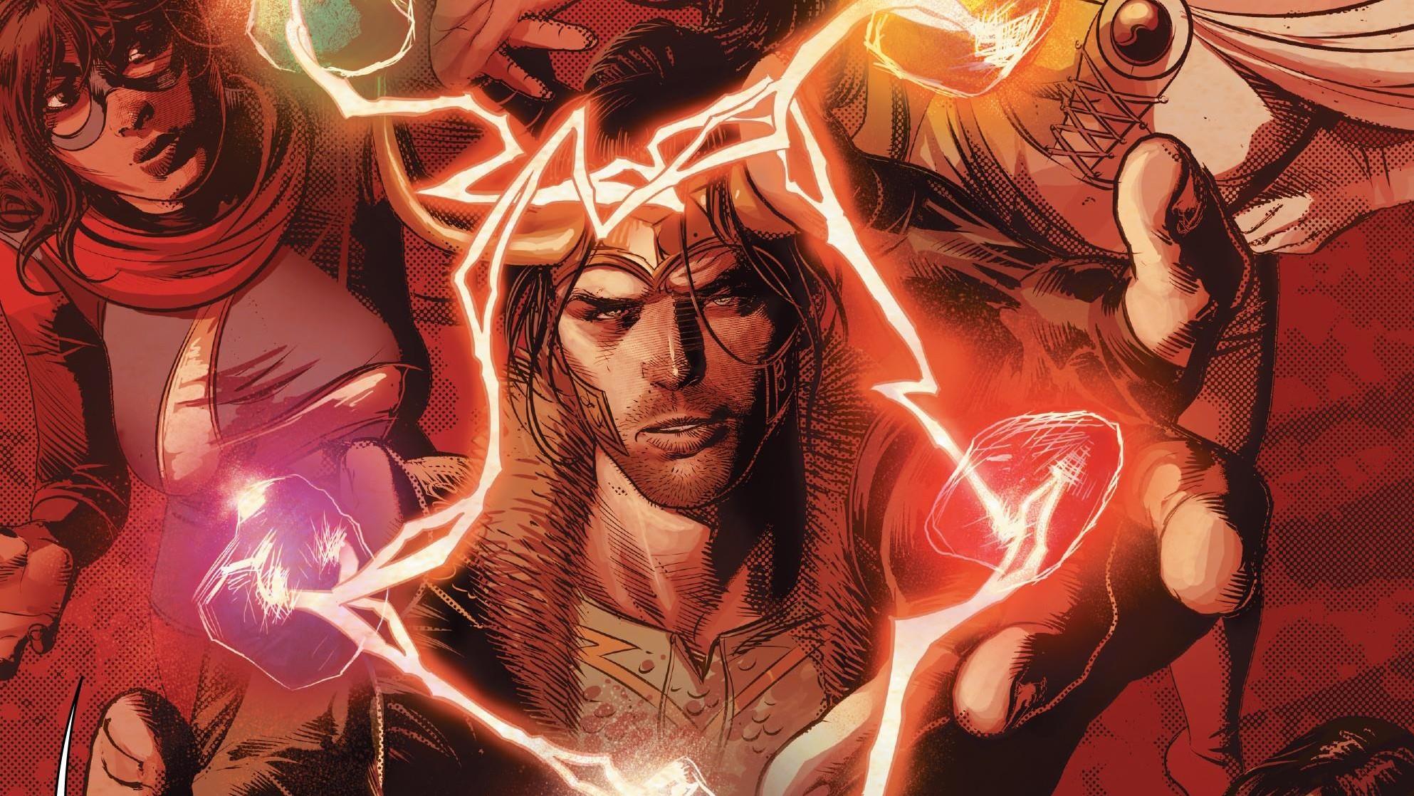 General 1986x1118 comics comic books comic art Marvel Comics Loki Ms. Marvel Infinity stones