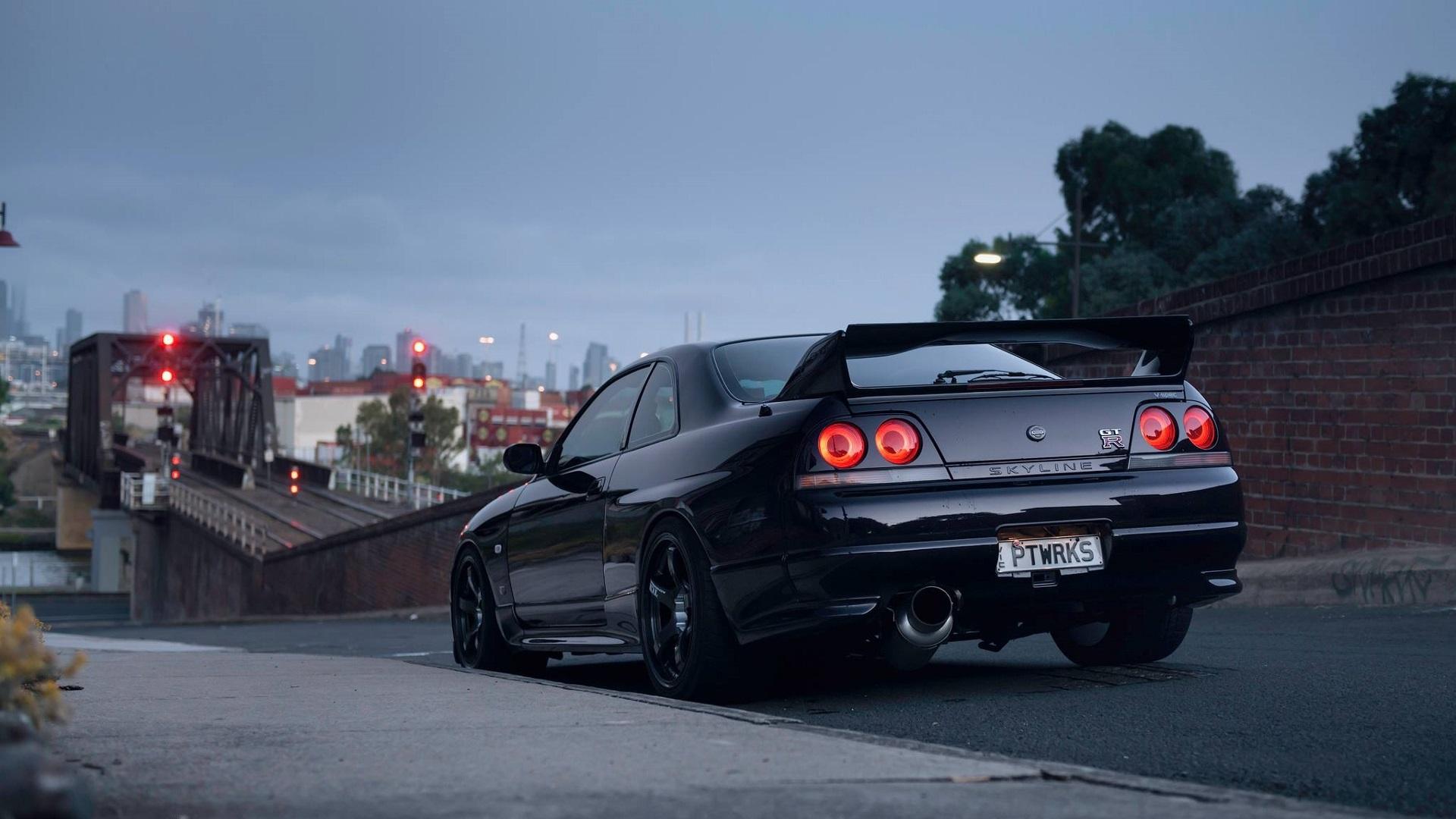 Nissan Skyline GT-R R33, Nissan Skyline GT-R, Nissan ...