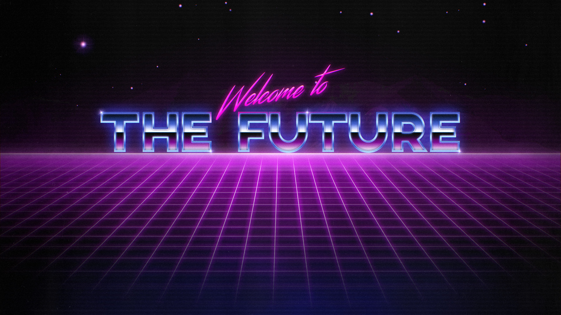 General 1920x1080 OutRun synthwave cyberpunk futuristic 1980s Muse  Retrowave