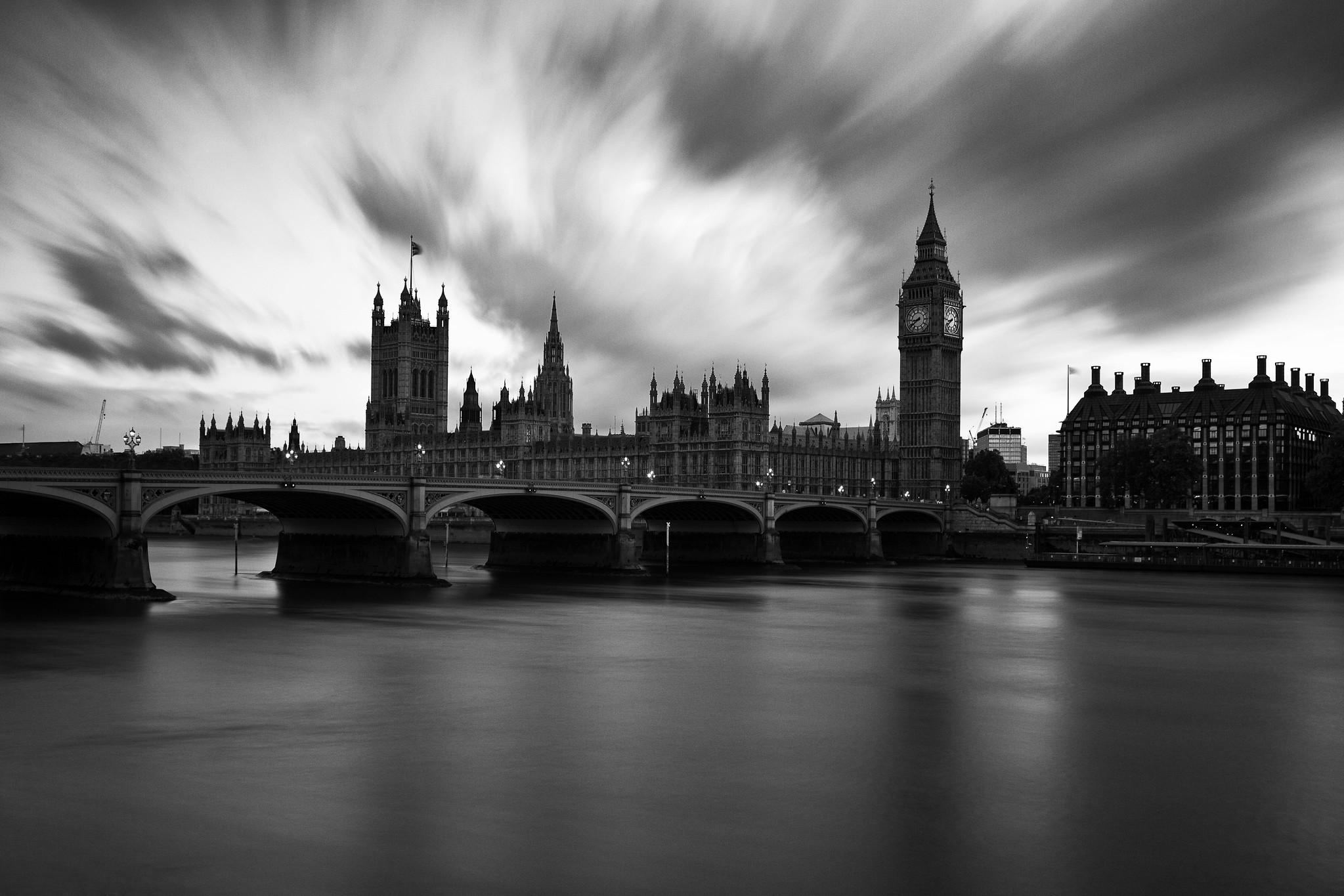 General 2047x1365 city London monochrome photography cityscape Big Ben Westminster