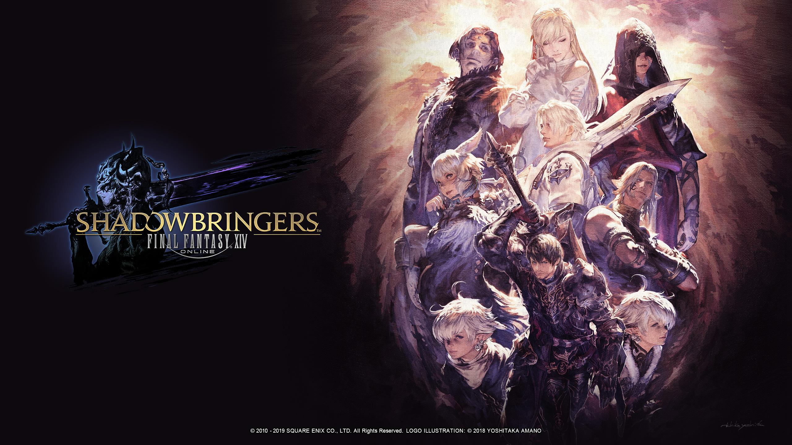 General 2560x1440 Final Fantasy Final Fantasy XIV sword fantasy art video game art