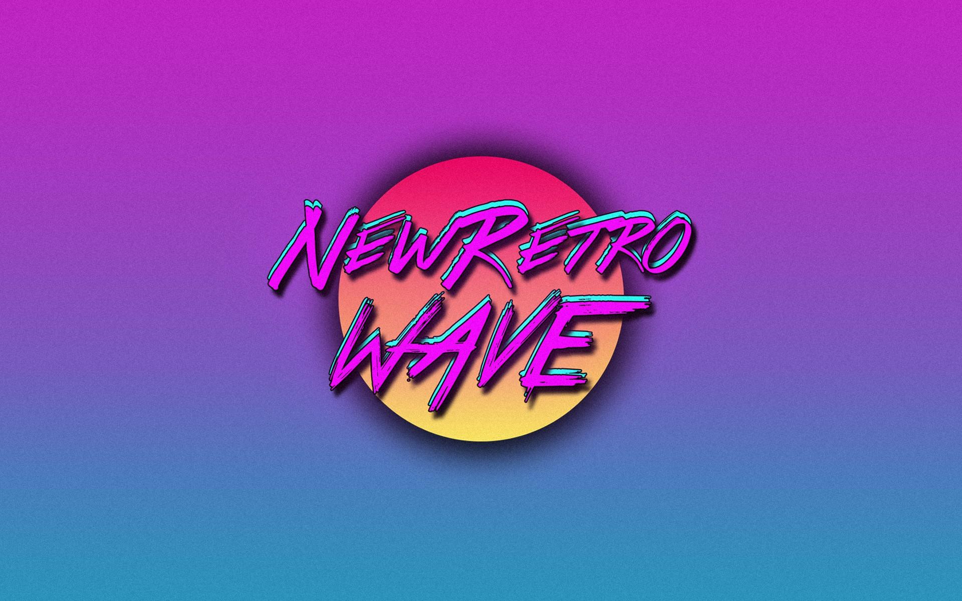 General 1920x1200 New Retro Wave vintage vintage synthwave neon 1980s retro games digital art simple background typography