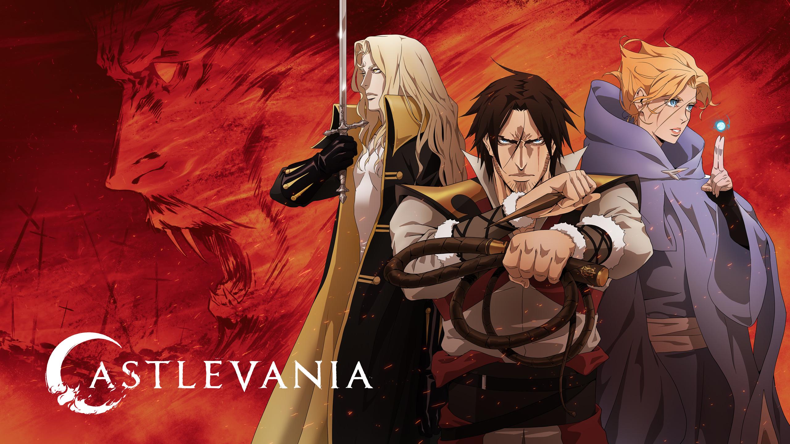 Anime 2560x1440 Netflix Castlevania TV Castlevania (anime) tv series