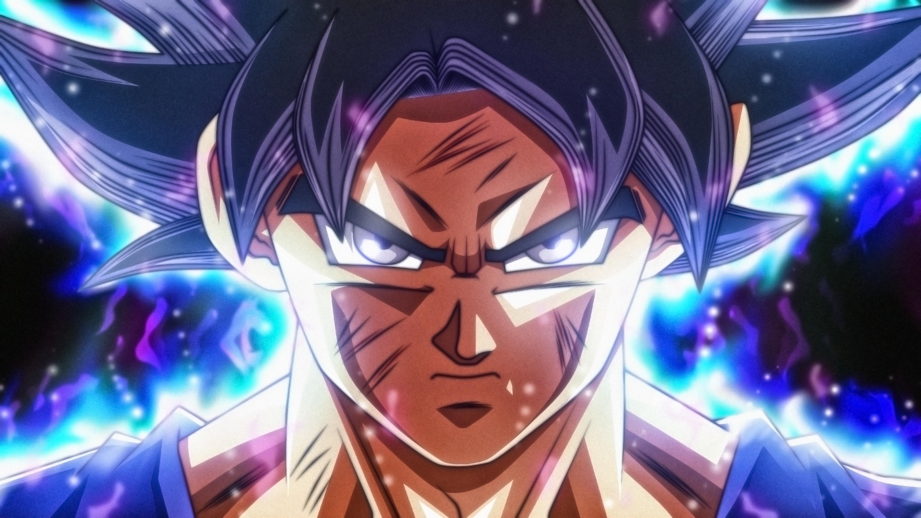 Anime 3840x2160 Dragon Ball Dragon Ball Super Son Goku ultra instict  rmehedi Super Saiyan anime boys anime face DeviantArt