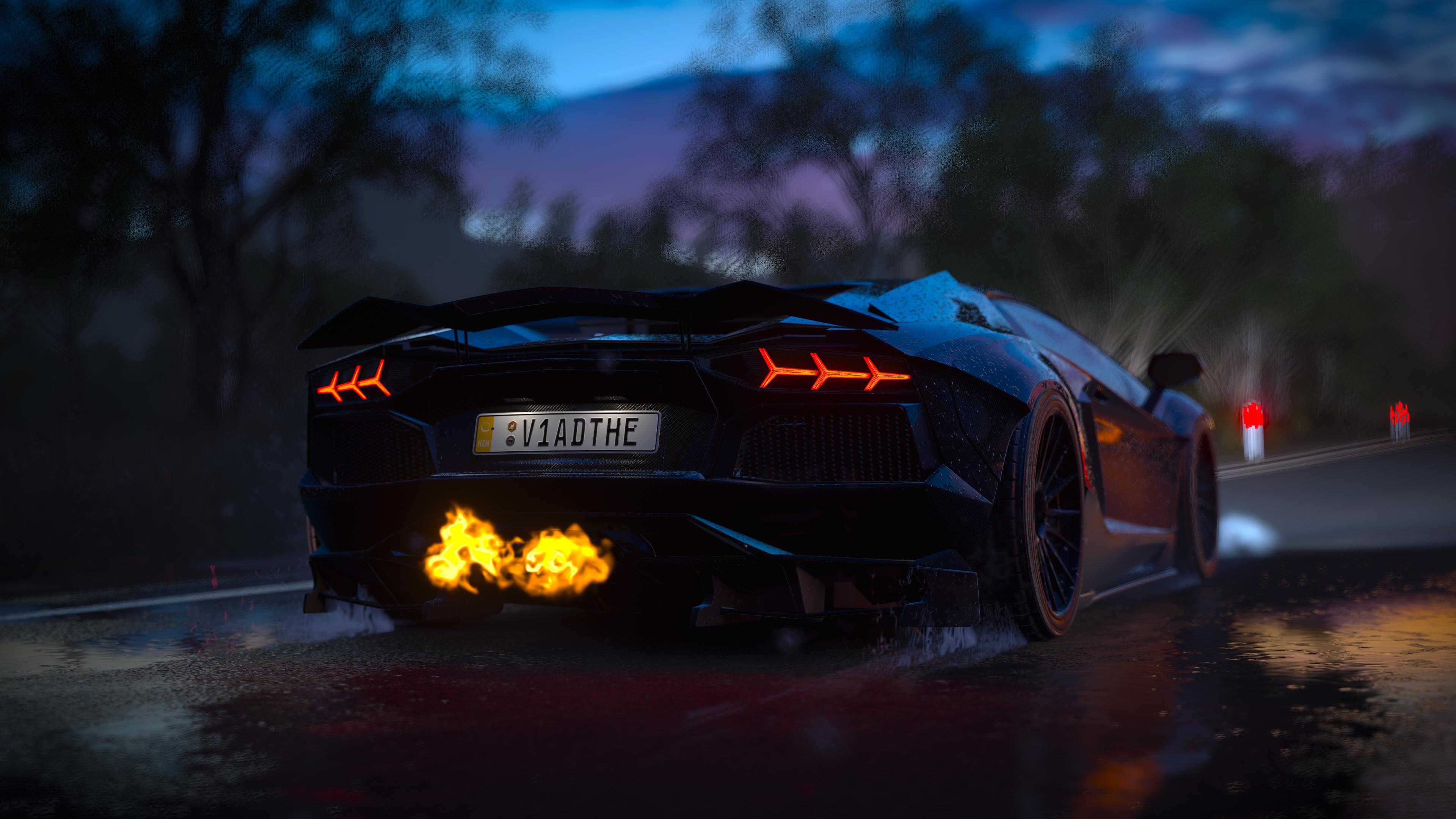 General 3840x2160 Forza Games forza horizon 3 Forza Horizon Lamborghini Aventador