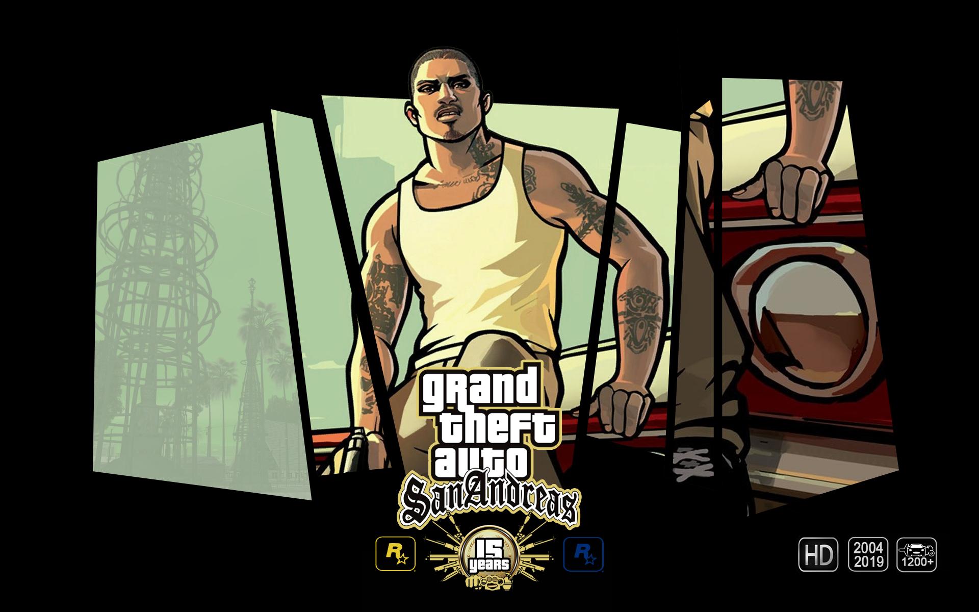 General 1920x1200 Grand Theft Auto GTA San Andreas Games posters GTA anniversary video games