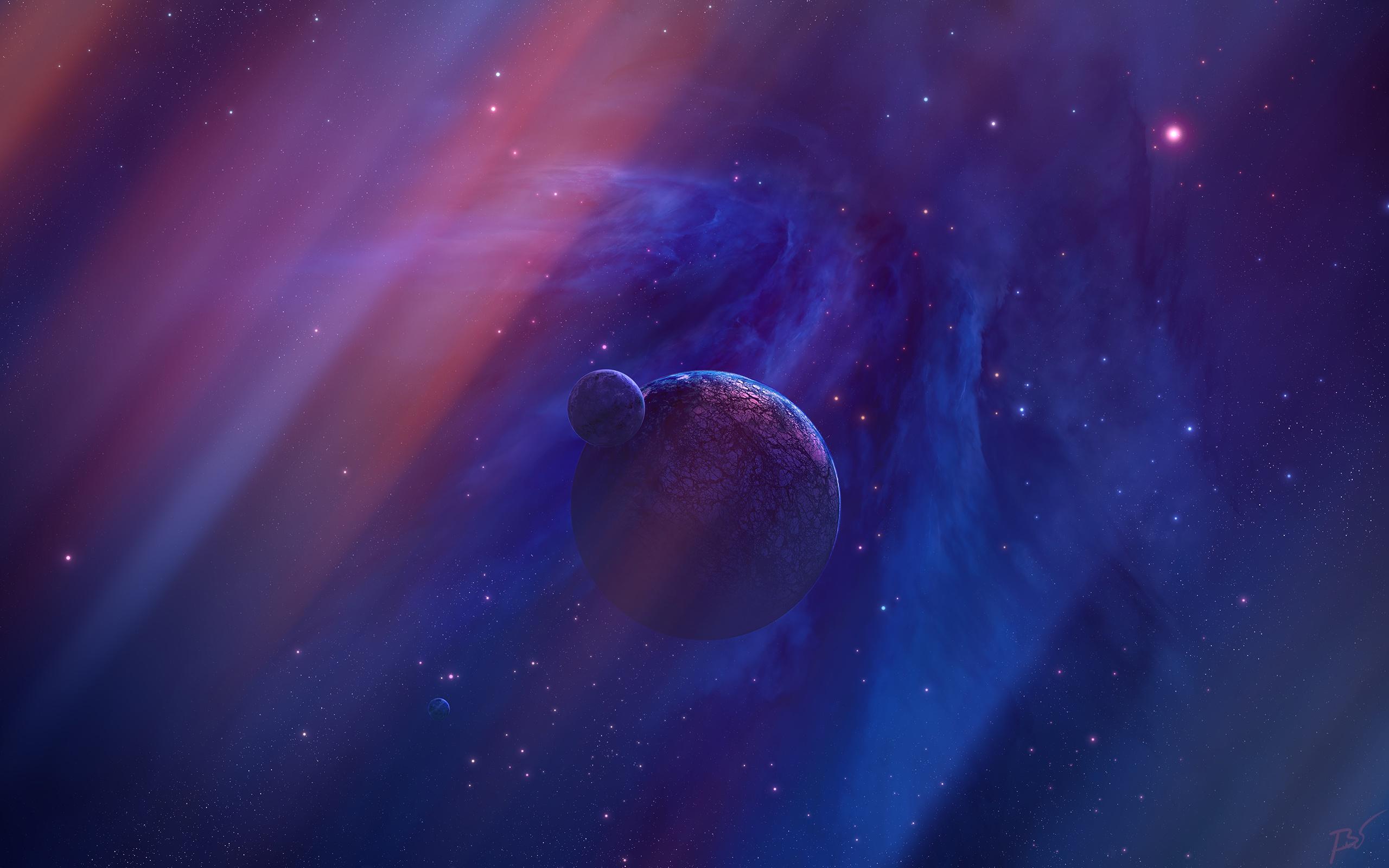 General 2560x1600 space space art planet digital art JoeyJazz