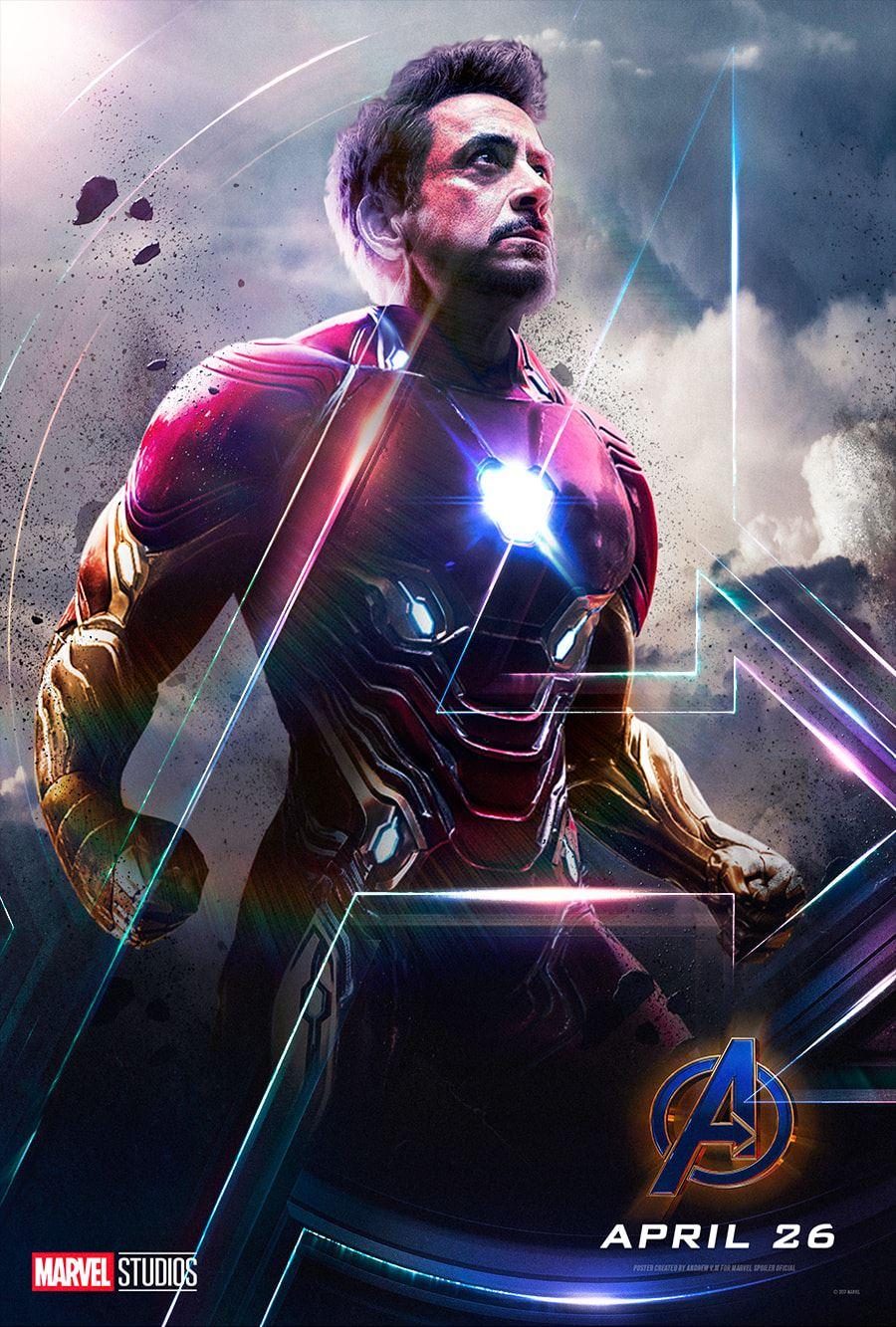 General 900x1333 Iron Man Tony Stark Avengers Endgame Robert Downey Jr. Marvel Cinematic Universe Marvel Comics