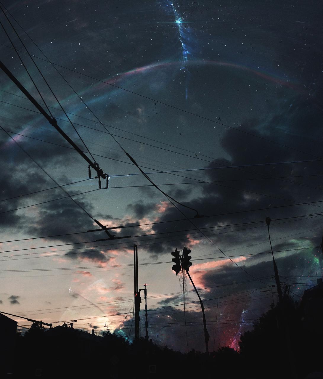 General 1091x1280 Ilya Baver space street wire photo manipulation digital art