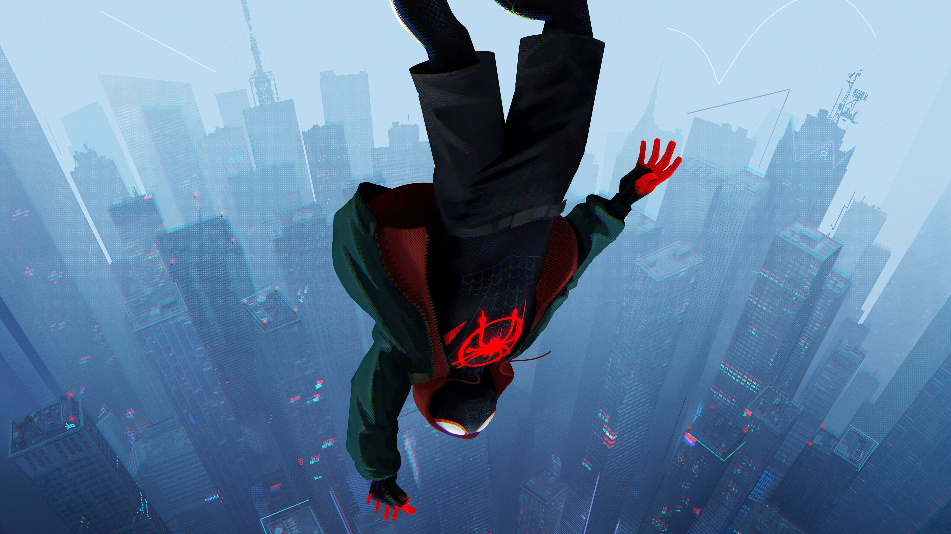 General 3840x2160 Spider-Man: Into the Spider-Verse Miles Morales Spider-Man Marvel Comics movies animated movies