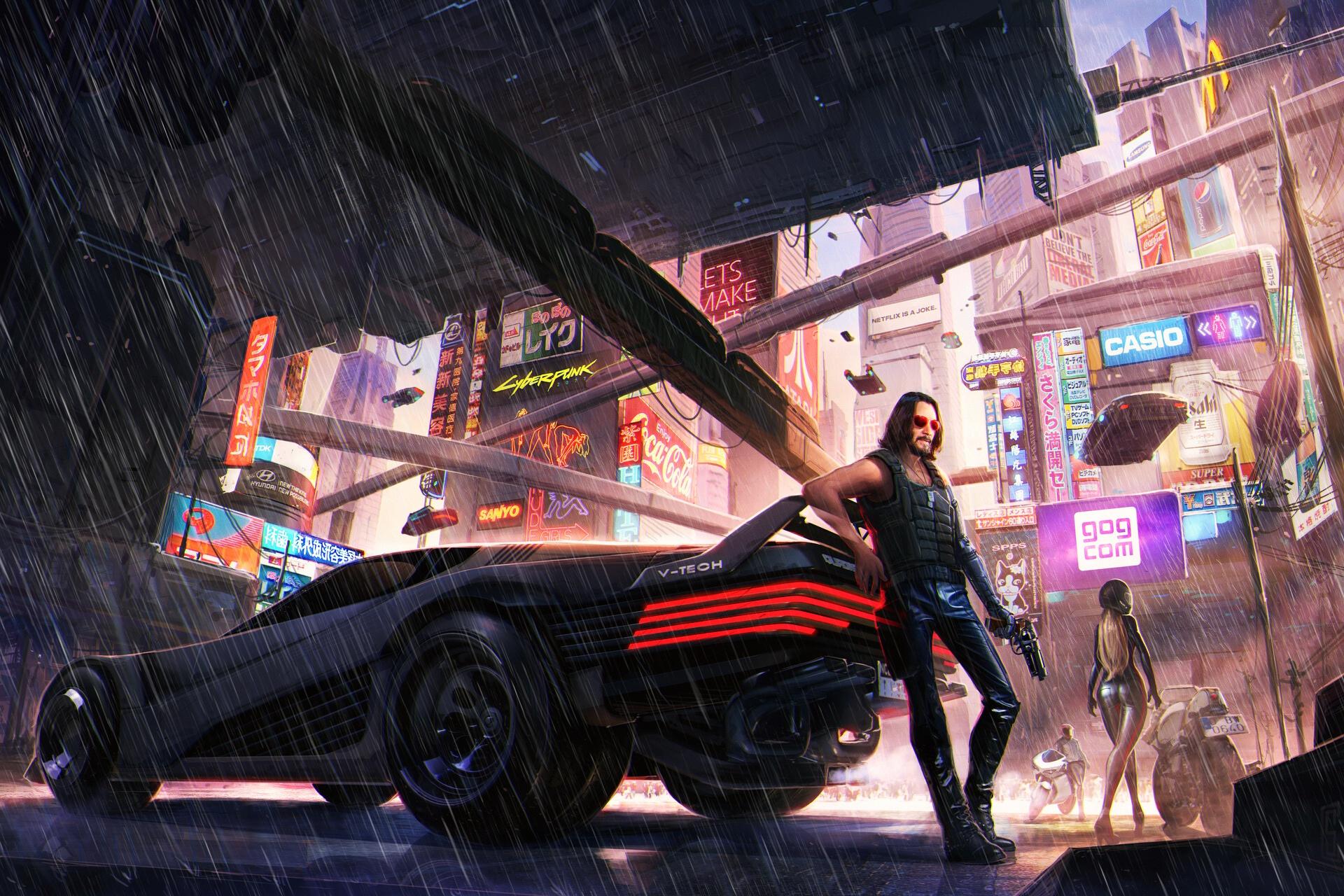Keanu Reeves, Johnny Silverhand, Video Games, Cyberpunk