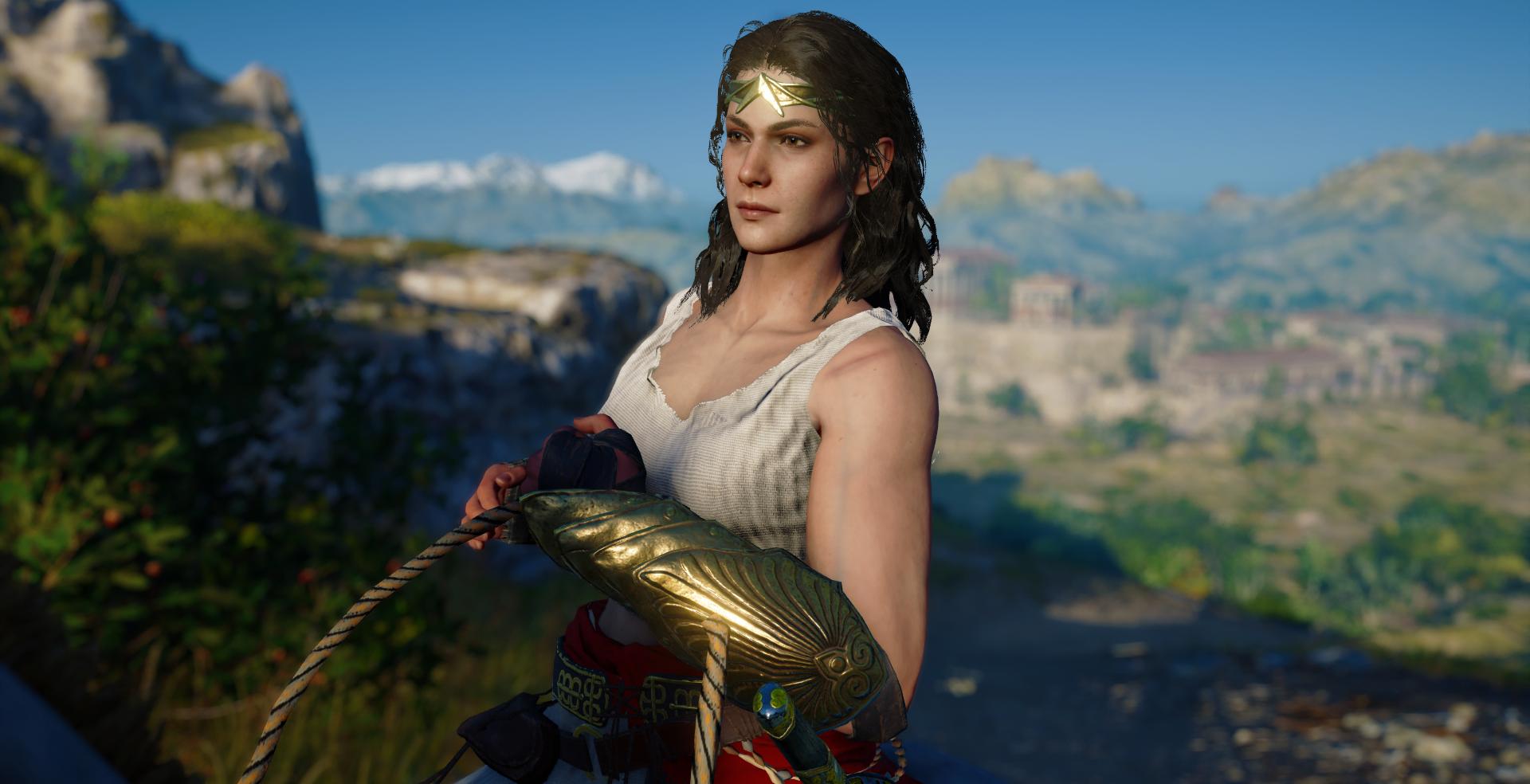 Black Kassandra Mod - Assassins Creed Odyssey Mods