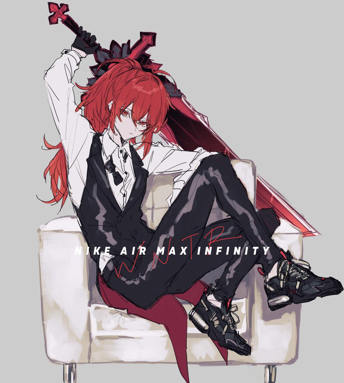 Anime 1200x1334 Genshin Impact Diluc (Genshin Impact) redhead