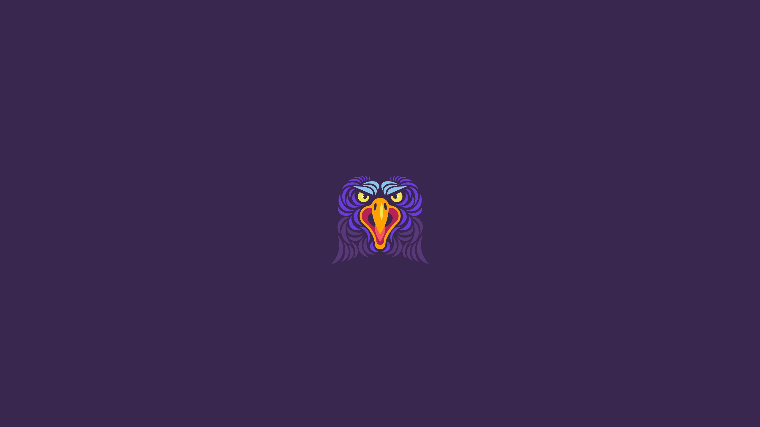 General 2560x1440 graphic design eagle bald eagle animals