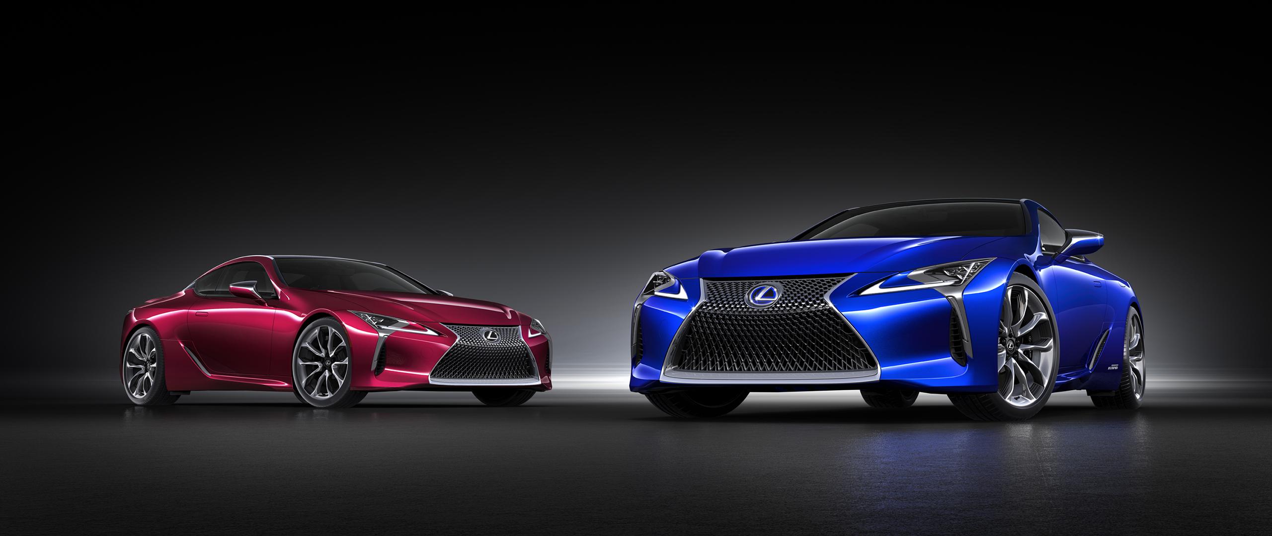 General 2560x1080 Lexus LC-500 car vehicle Hybrid electric car