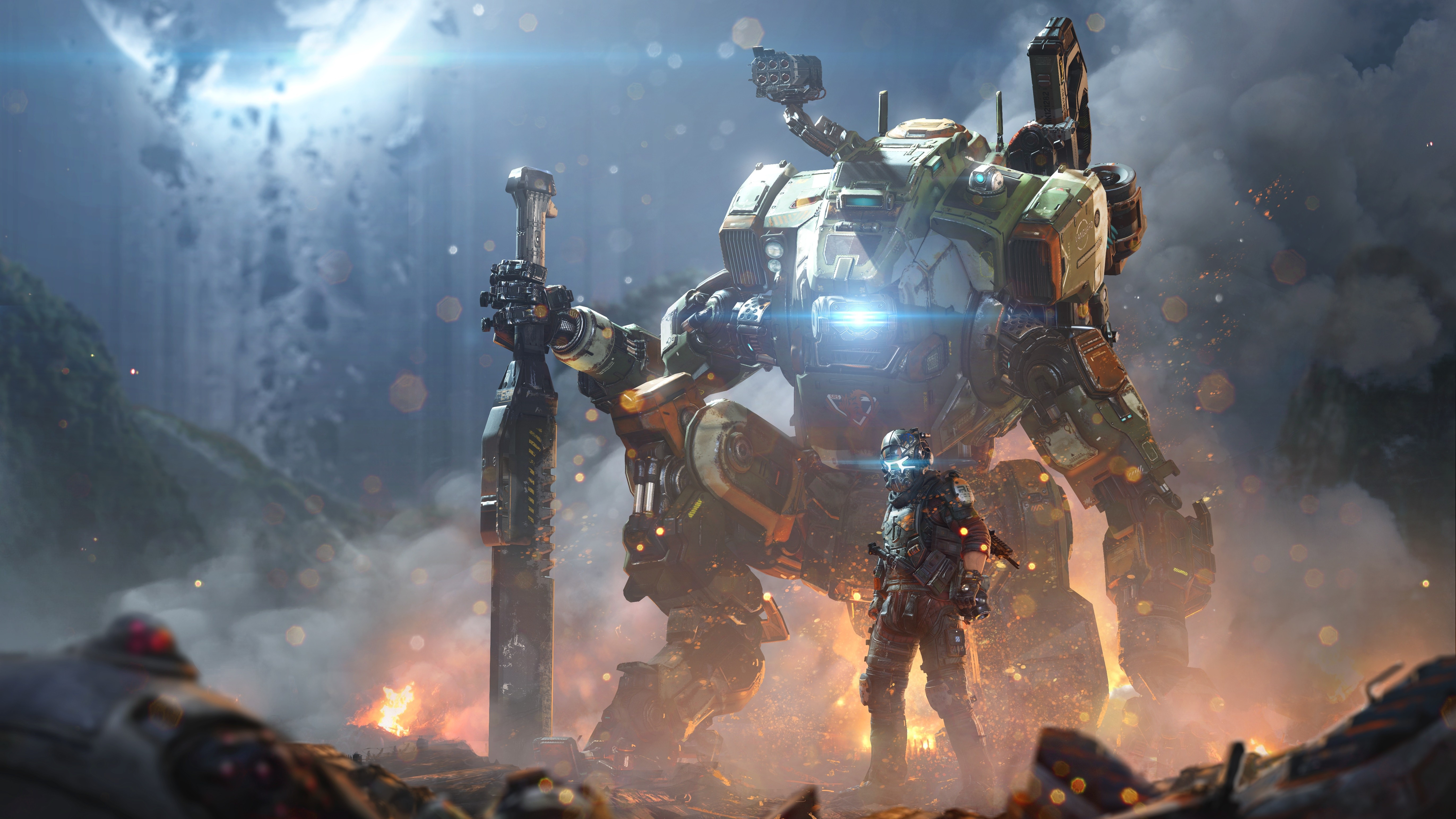 General 5486x3085 video games Titanfall 2 Titanfall