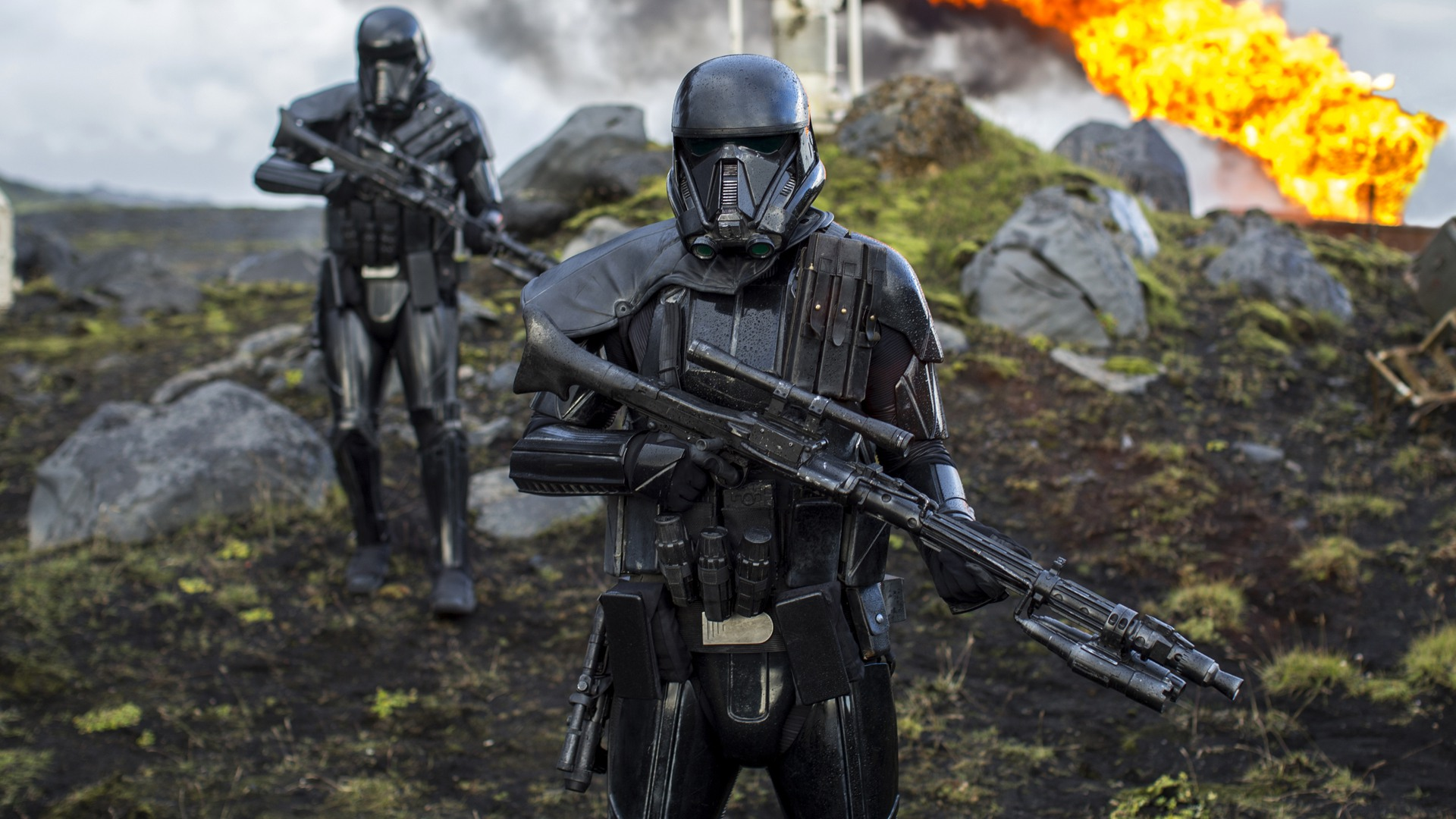 General 1920x1080 Star Wars Rogue One: A Star Wars Story Imperial Death Trooper movies Imperial Forces