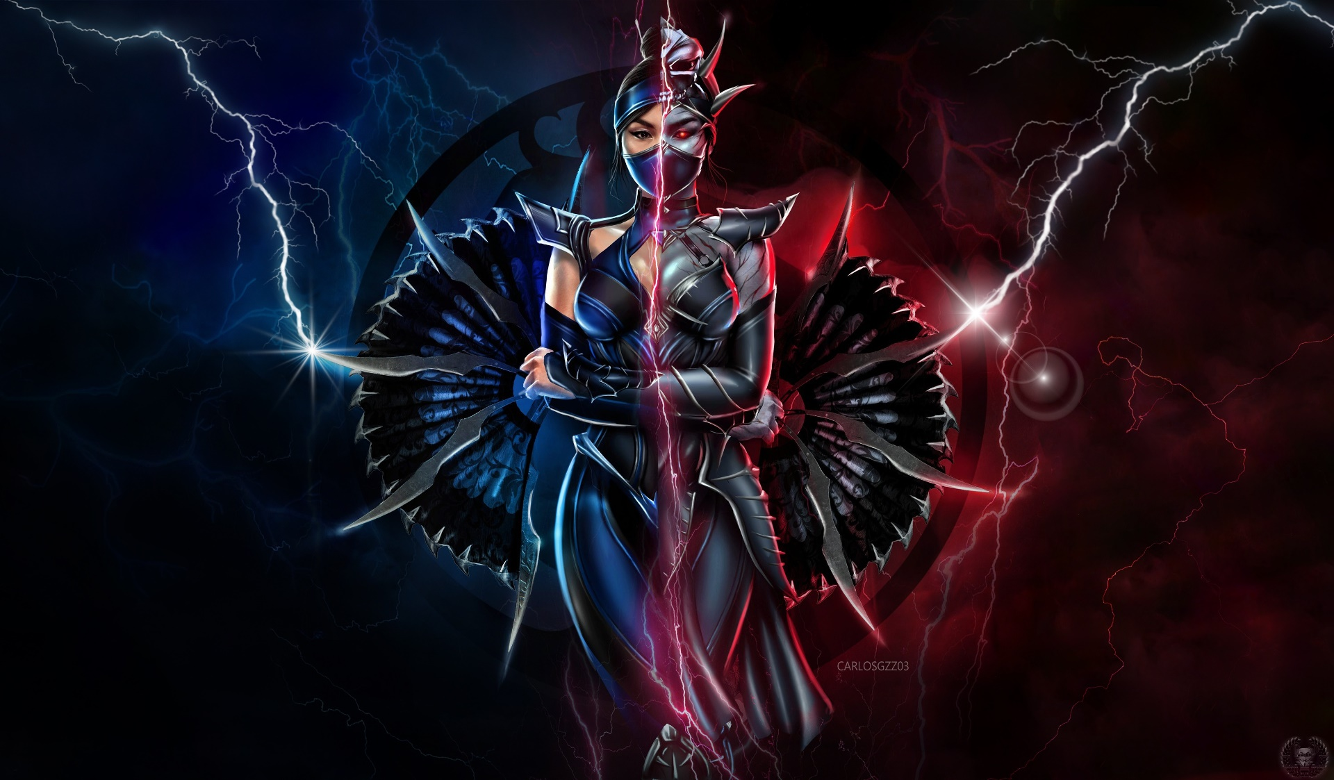 General 1920x1123 Mortal Kombat video games Video Game Warriors video game art Mortal Kombat 11 Kitana